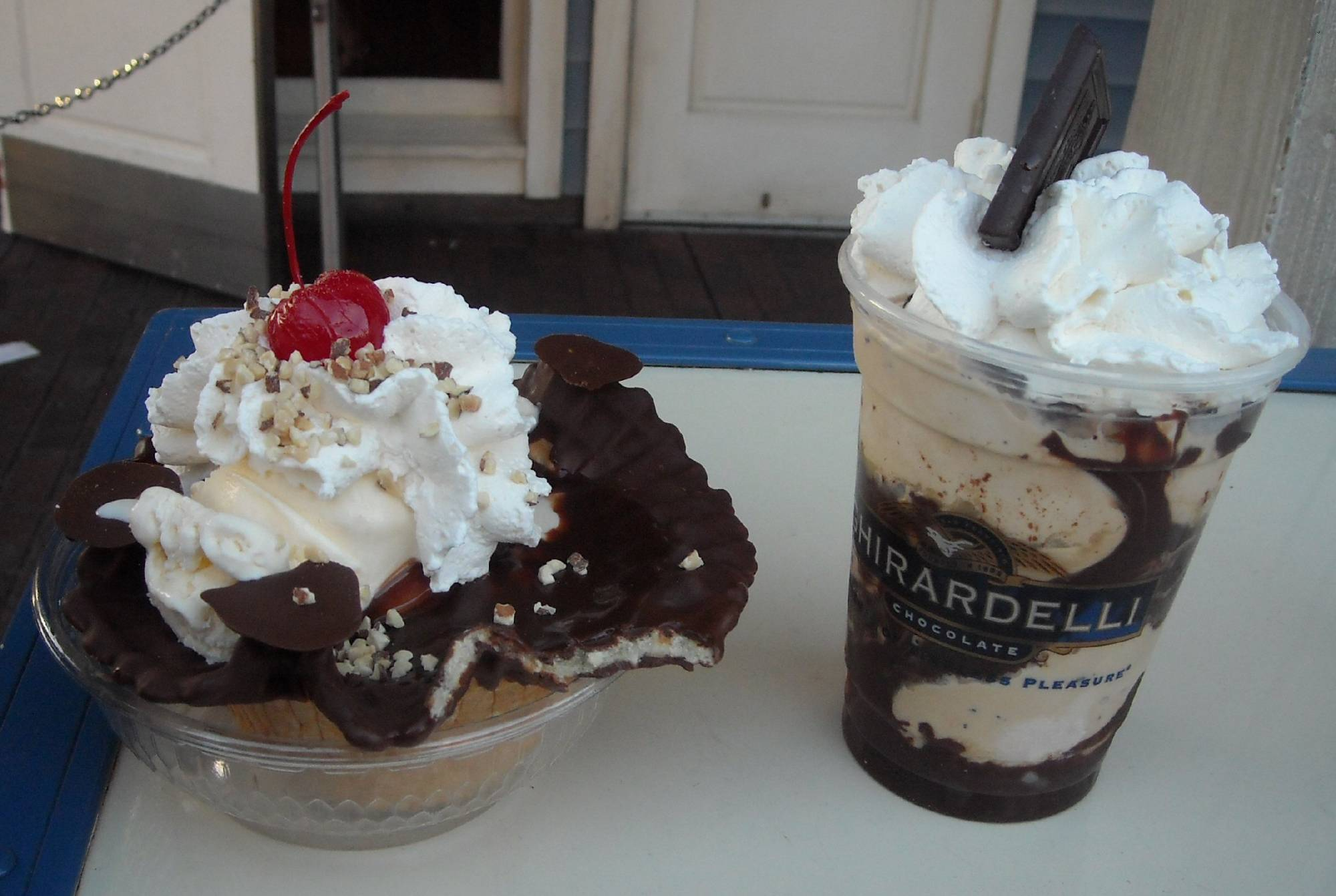Indulge in a chocolate treat from the Ghirardelli Factory Store at Disney California Adventure | PassPorter.com