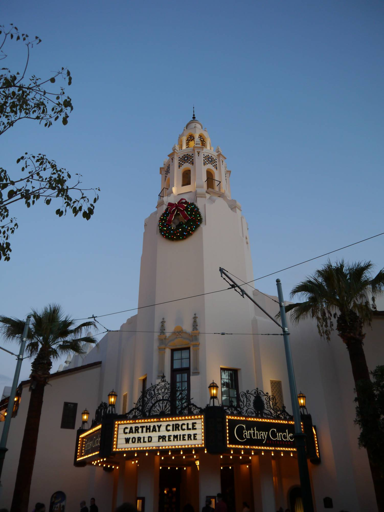 Enjoy an incredible meal surrounded by Disney history at Carthay Circle |PassPorter.com