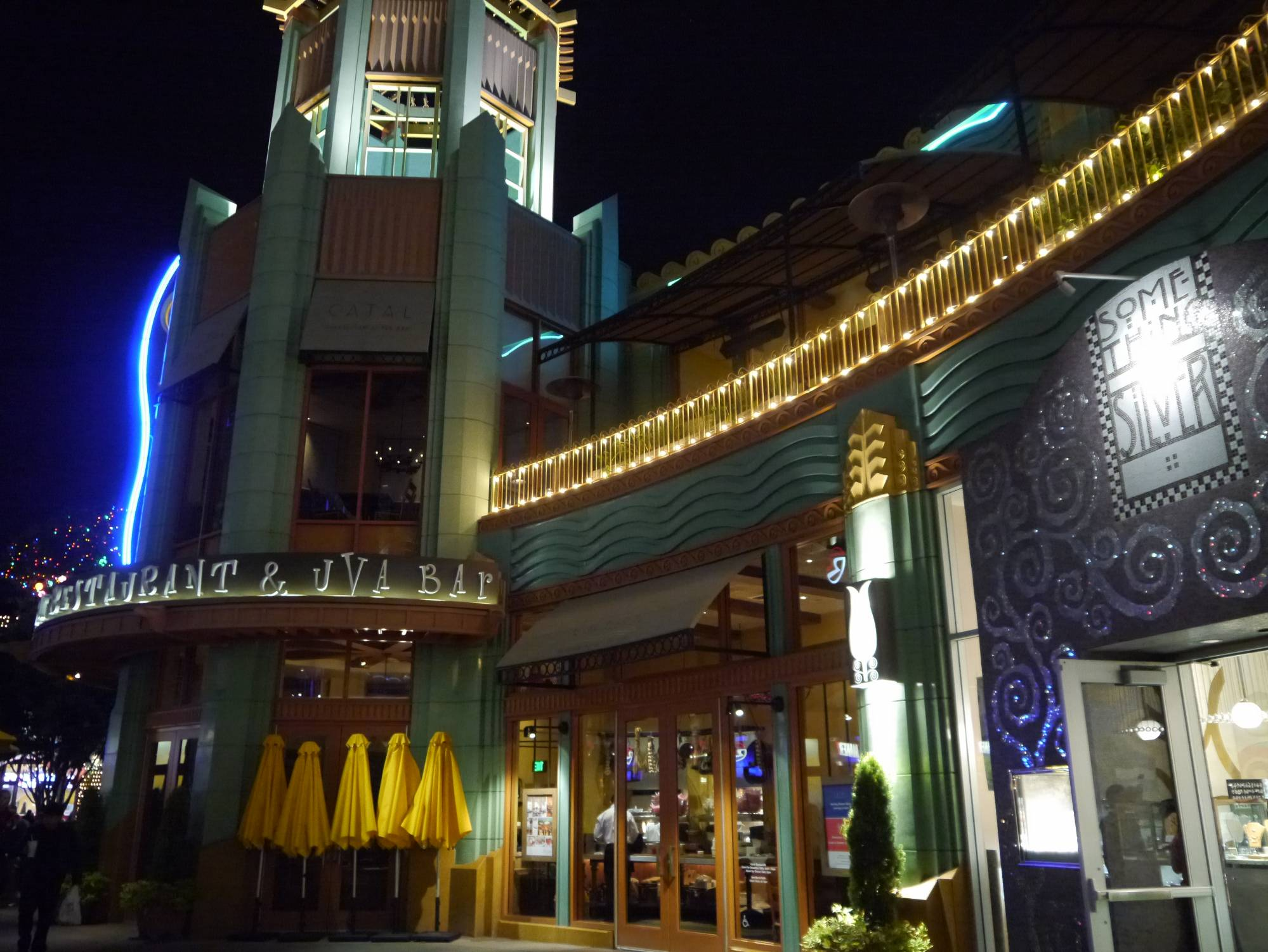 Enjoy the atmosphere and menu at Catal in Disneyland's Downtown Disney |PassPorter.com