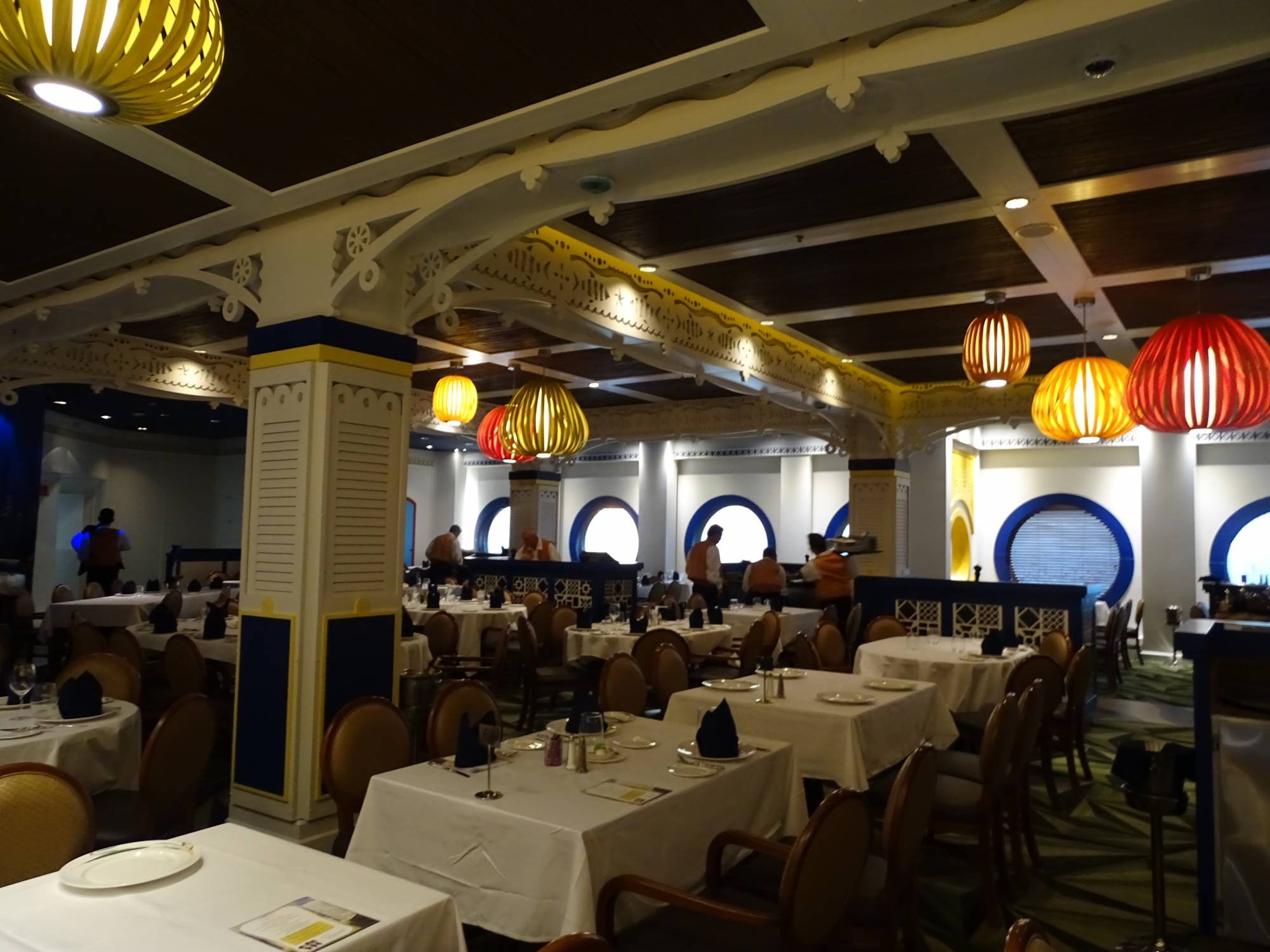 Enjoy a brazilian-themed meal at Carioca's onboard the Disney Magic | PassPorter.com