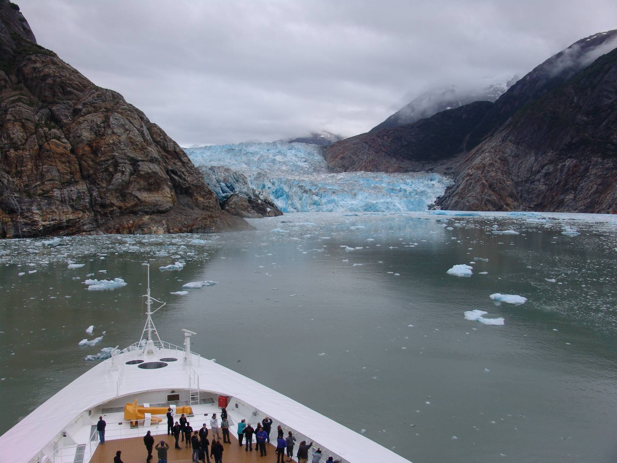 Discover the beauty of Tracy Arm Fjord aboard the Disney Wonder | PassPorter.com