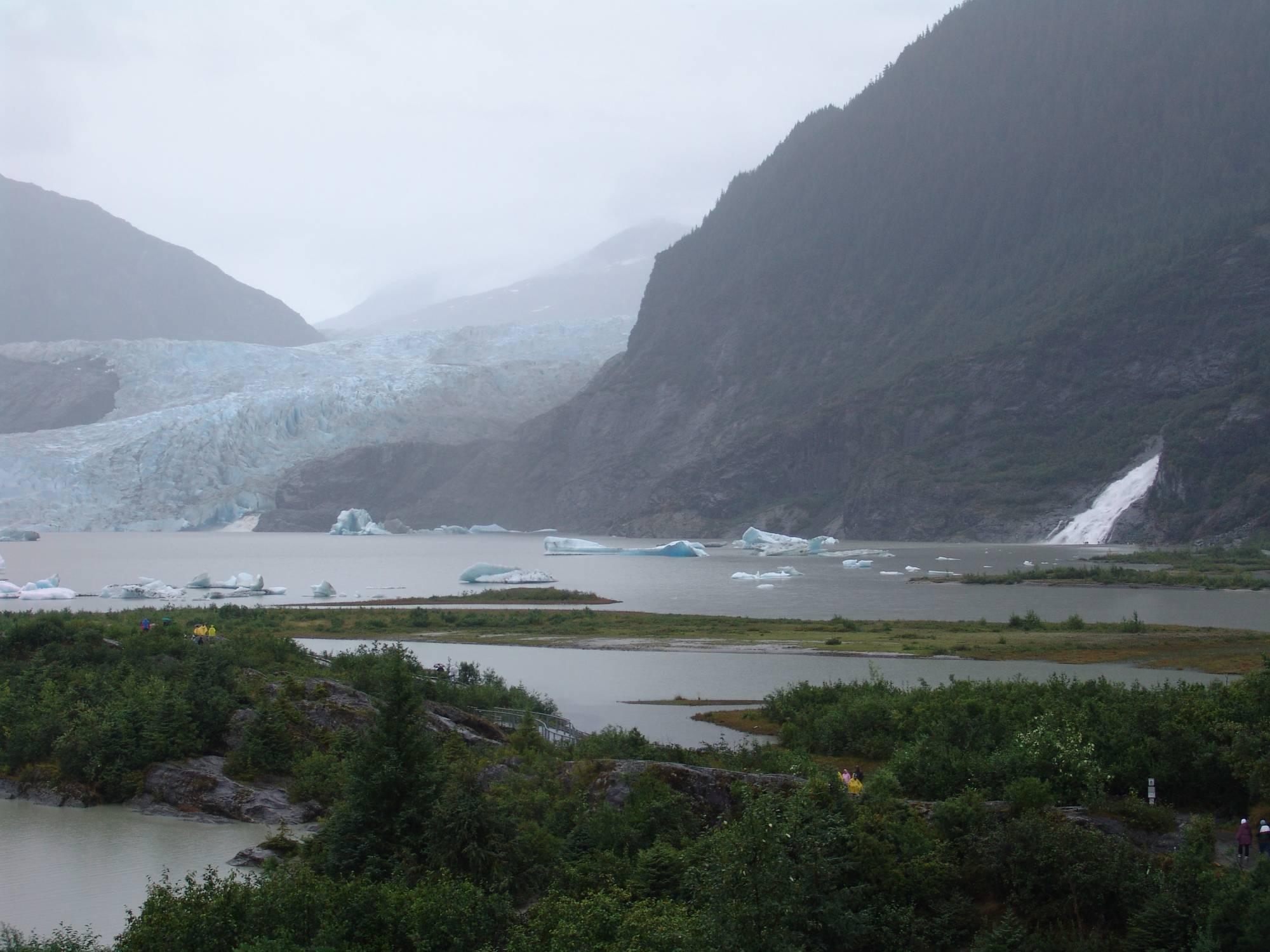 Alaskan cruise - Mendenhall Glacier photo