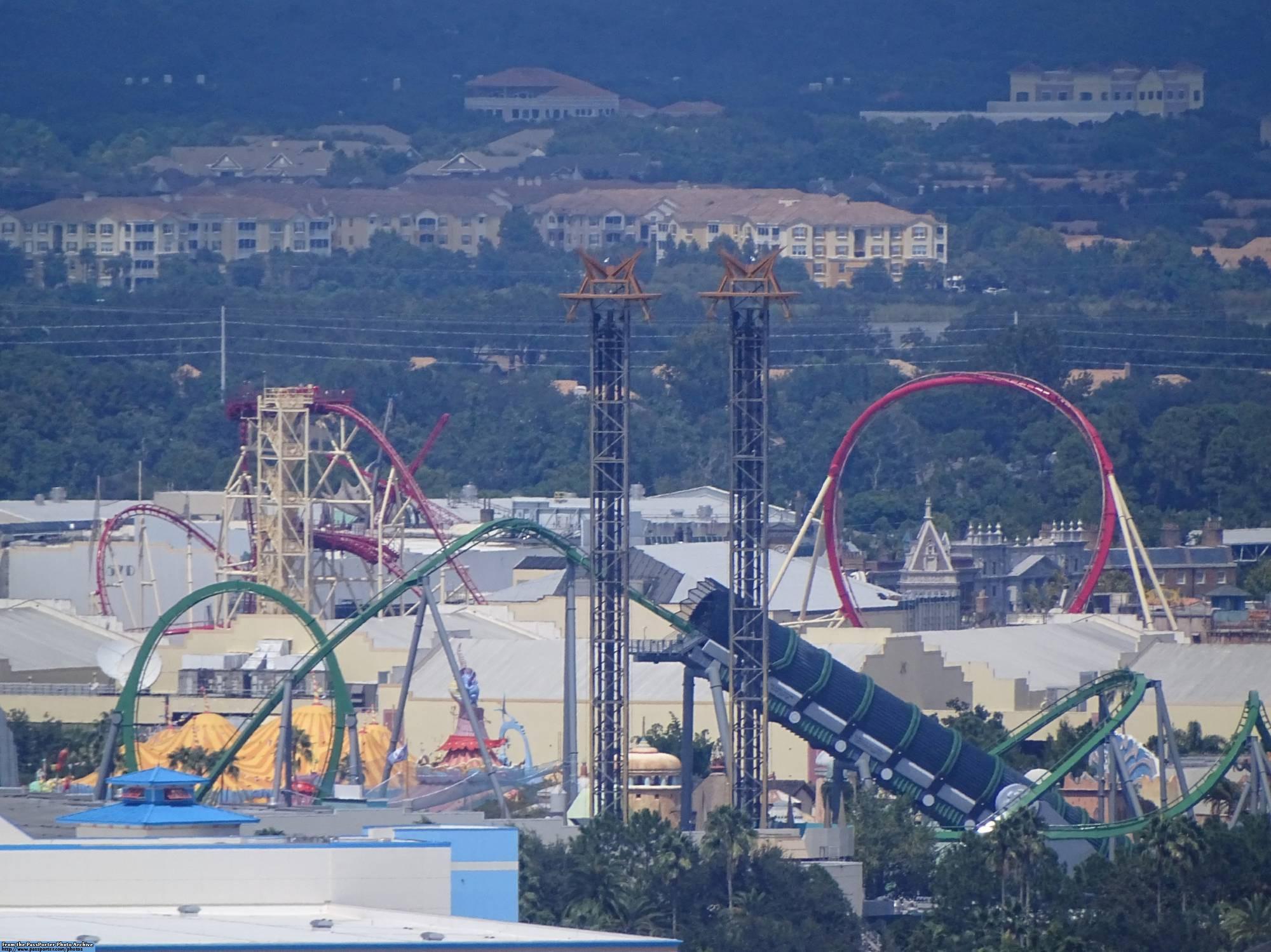 Enjoy a birds eye view of Orlando on the Orlando Eye | PassPorter.com