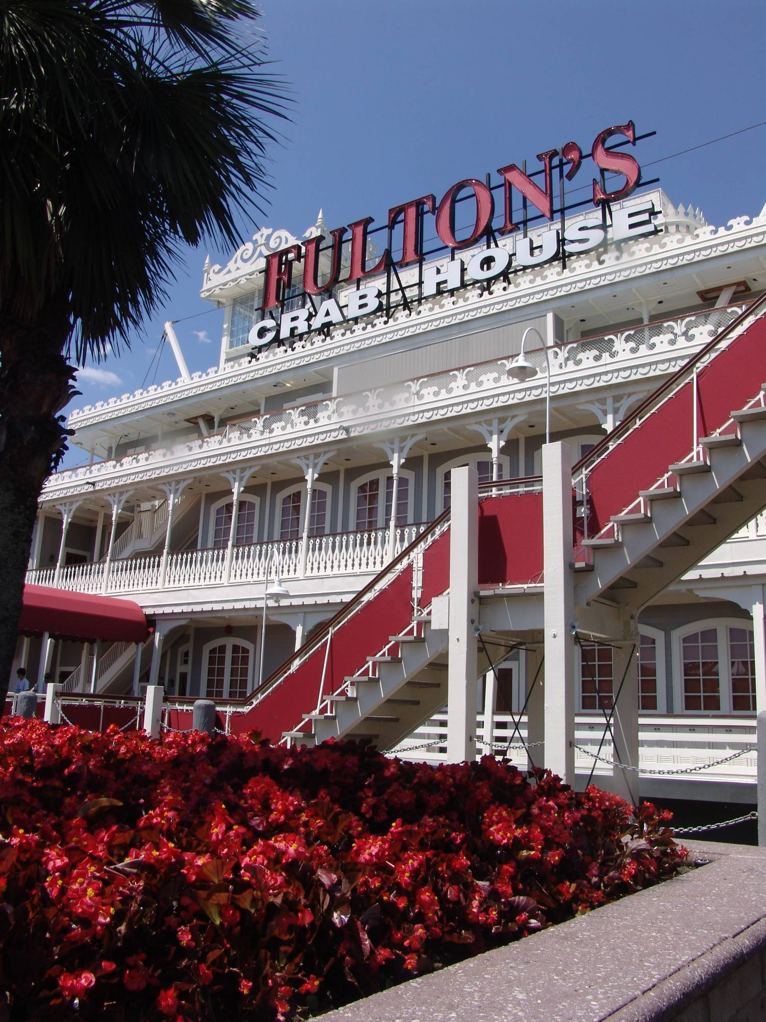 Enjoy the seafood at Fulton's Crab House in Downtown Disney |PassPorter.com
