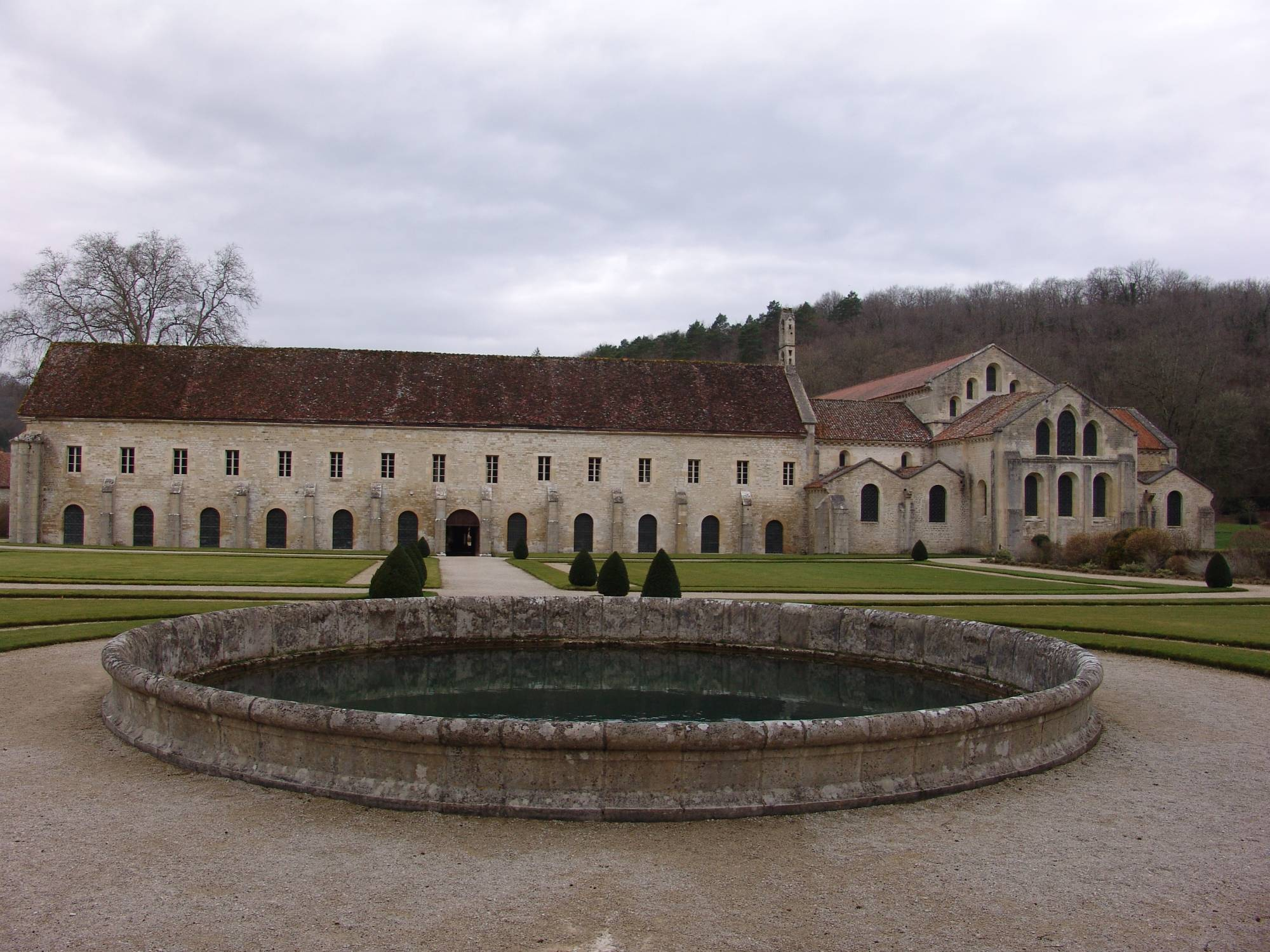 Burgundy - Abbaye de Fontenay photo