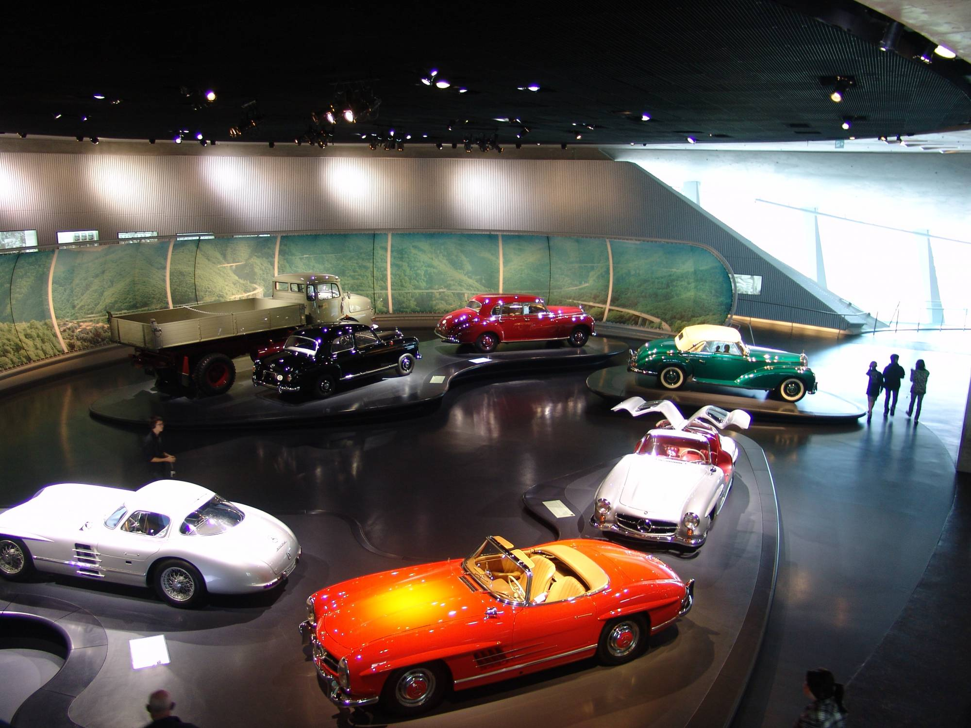 Learn about the history of autombiles at the Mercedes-Benz Museum | PassPorter.com