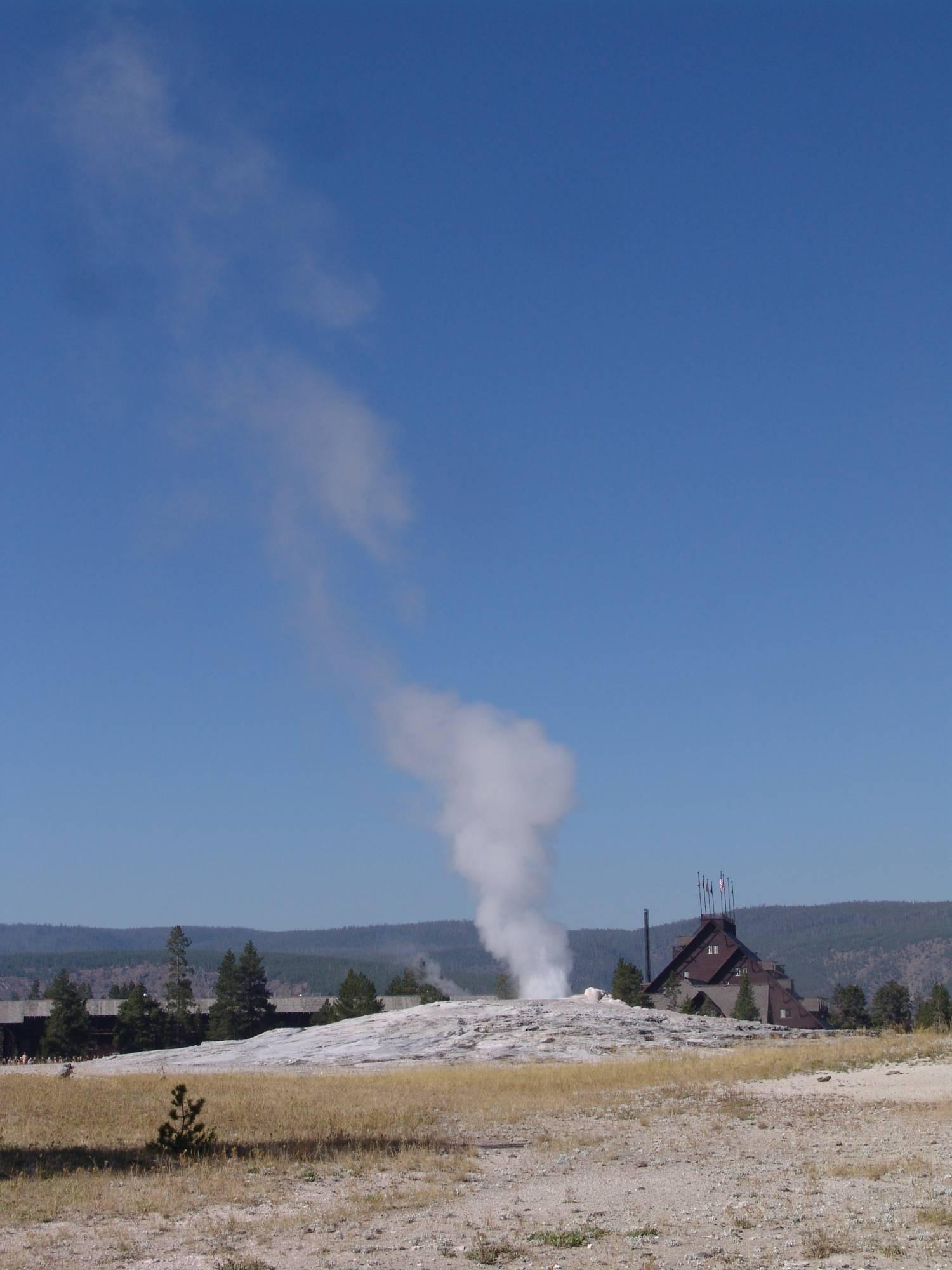 Yellowstone - Old Faithful photo