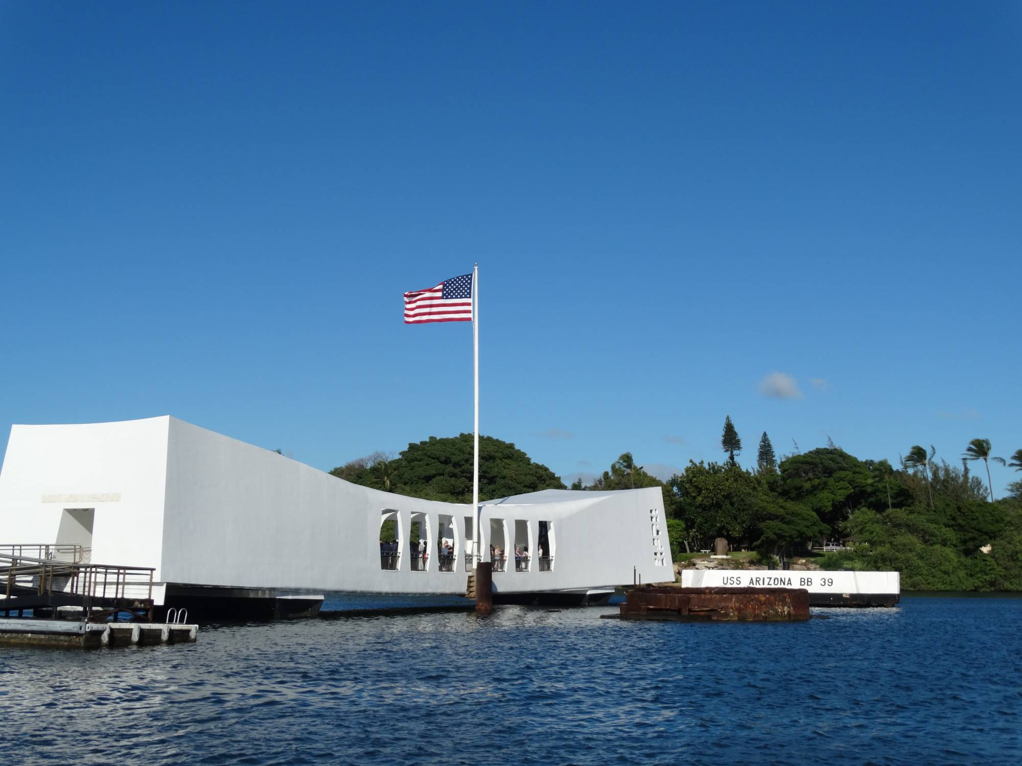 Visit the Pearl Harbor Memorial while staying at Aulani |PassPorter.com