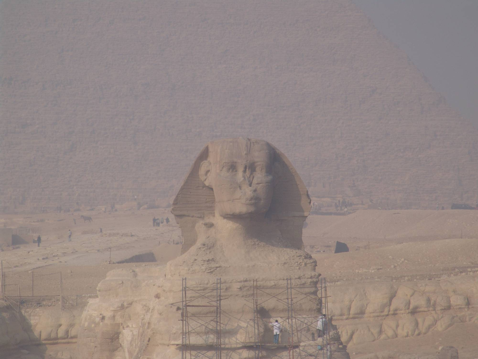 Egypt - Sphinx, Giza pyramids, Cairo photo