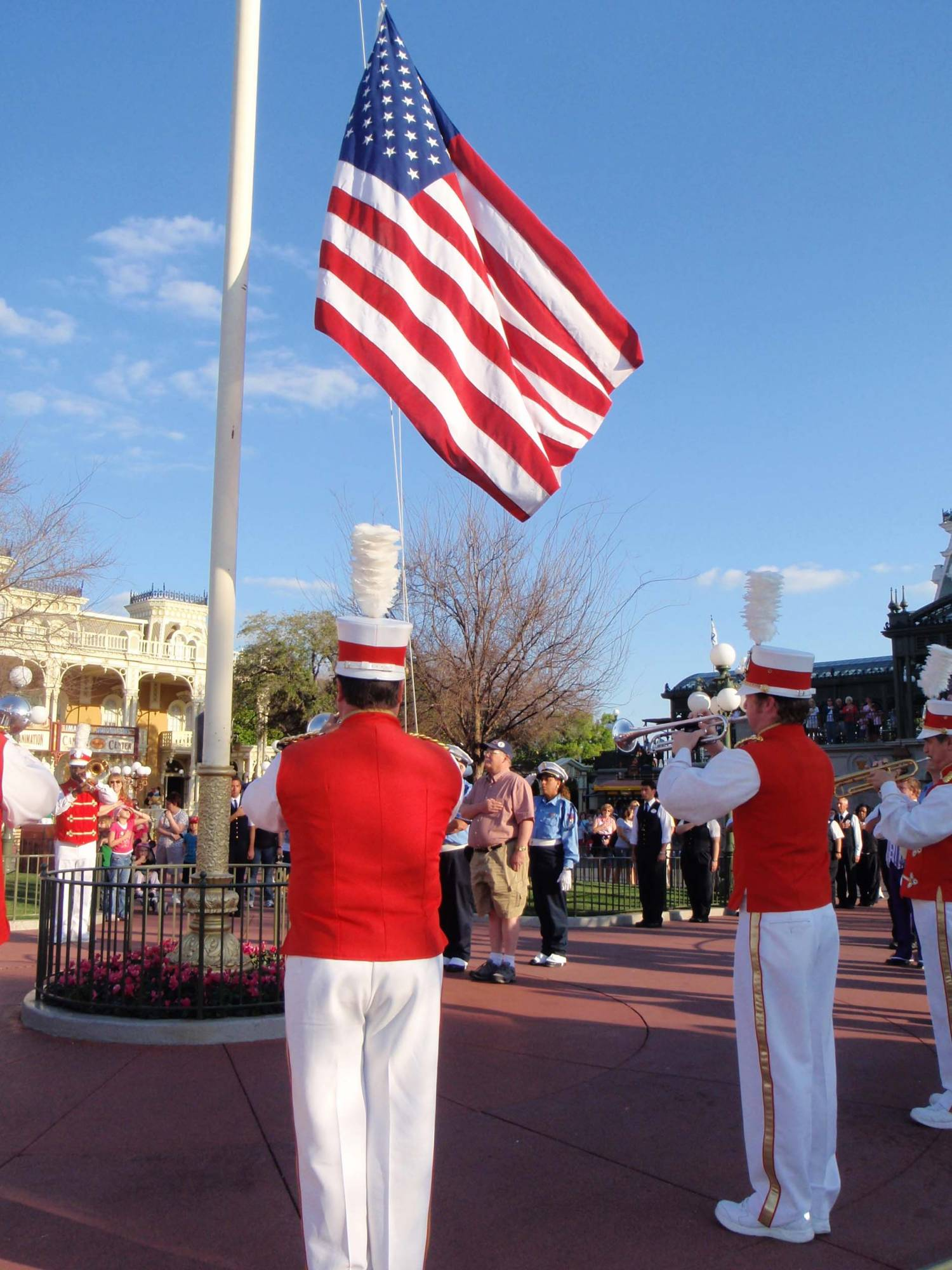 Magic Kingdom - Flag Retreat photo