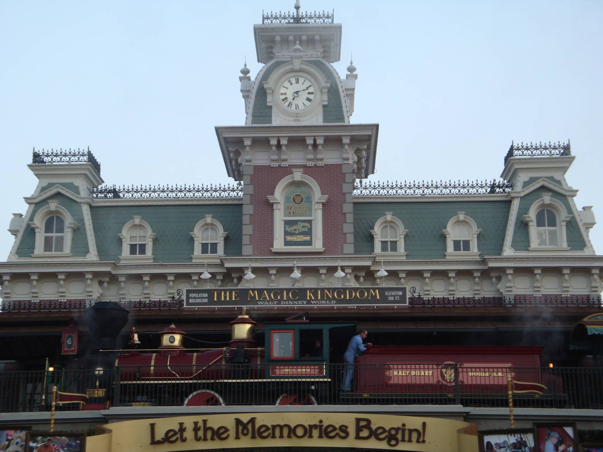 Walt Disney World Railroad Station photo