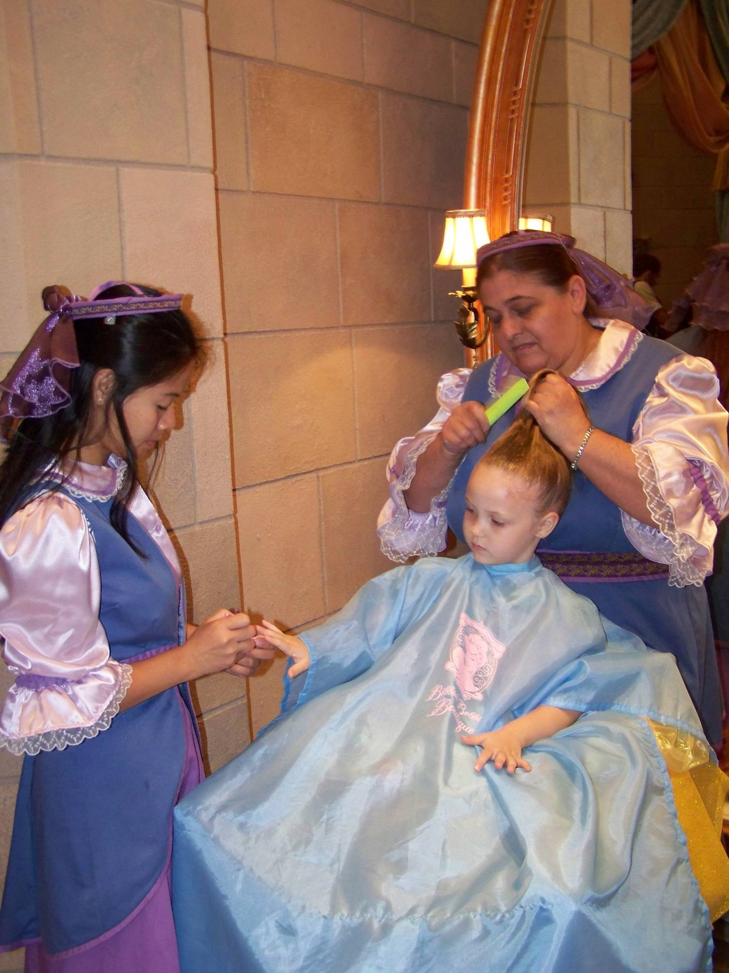 Even 'older' princesses enjoy the Bibbidi Bobbidi Boutique |PassPorter.com