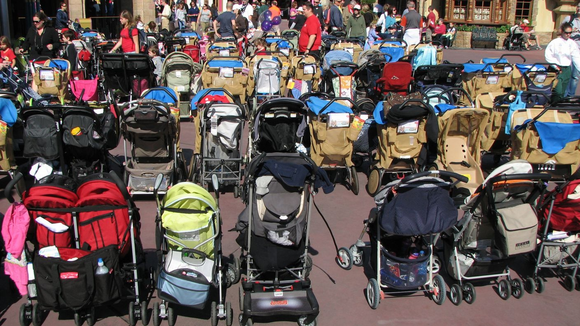 Magic Kingdom - Stroller-land photo