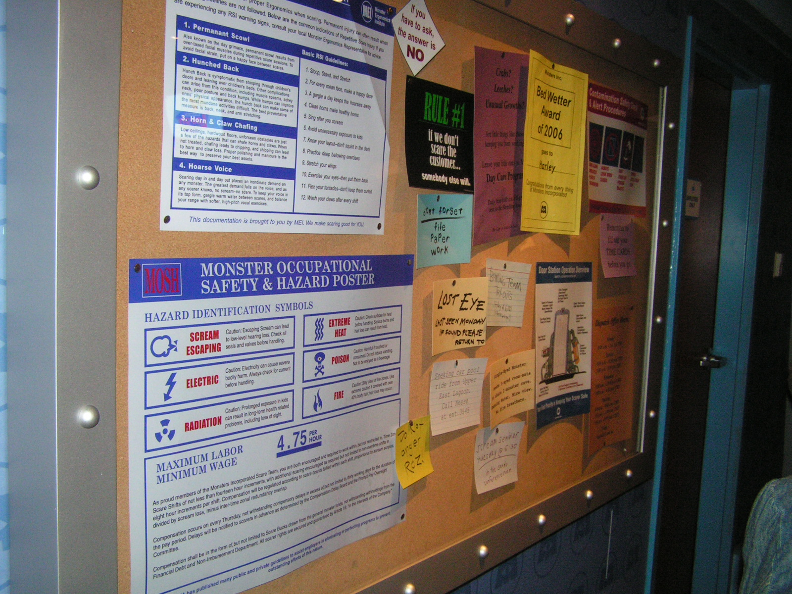 Magic Kingdom - Laugh Floor Comedy Club: Bulletin Board photo