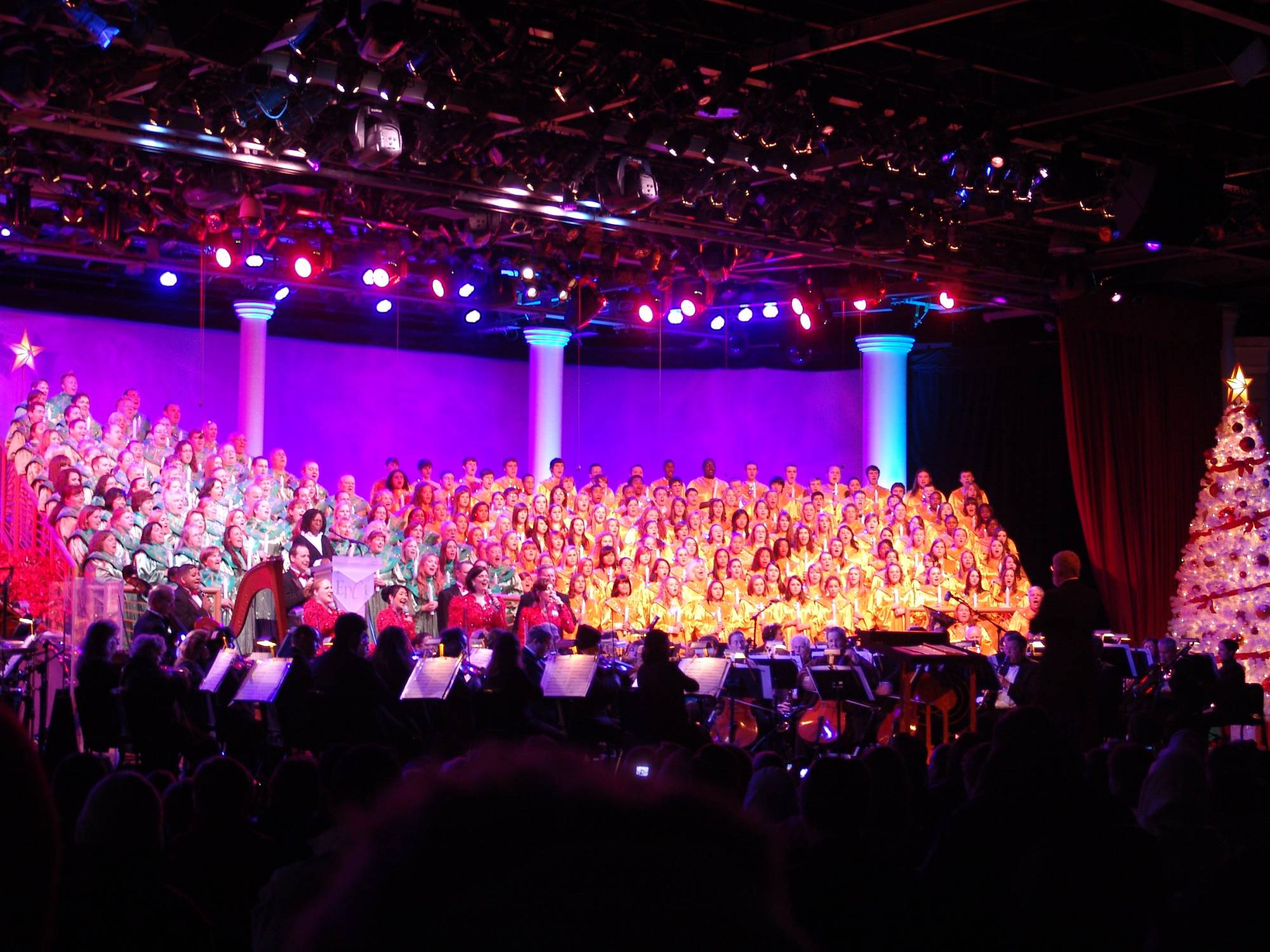 Make the most of the Candlelight Processional Dinner Package |PassPorter.com