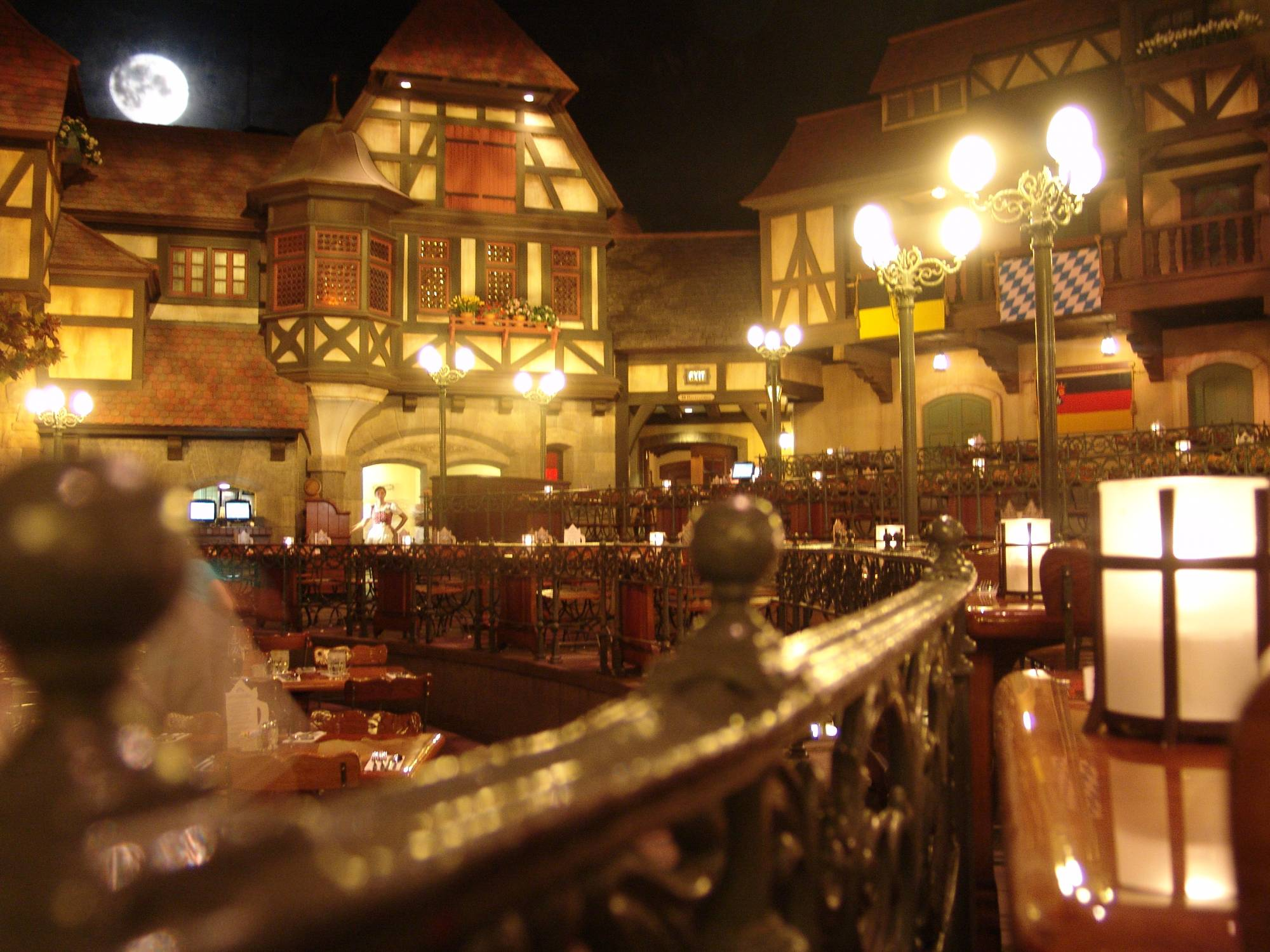 Enjoy a meal at the Biergarten at Epcot |PassPorter.com