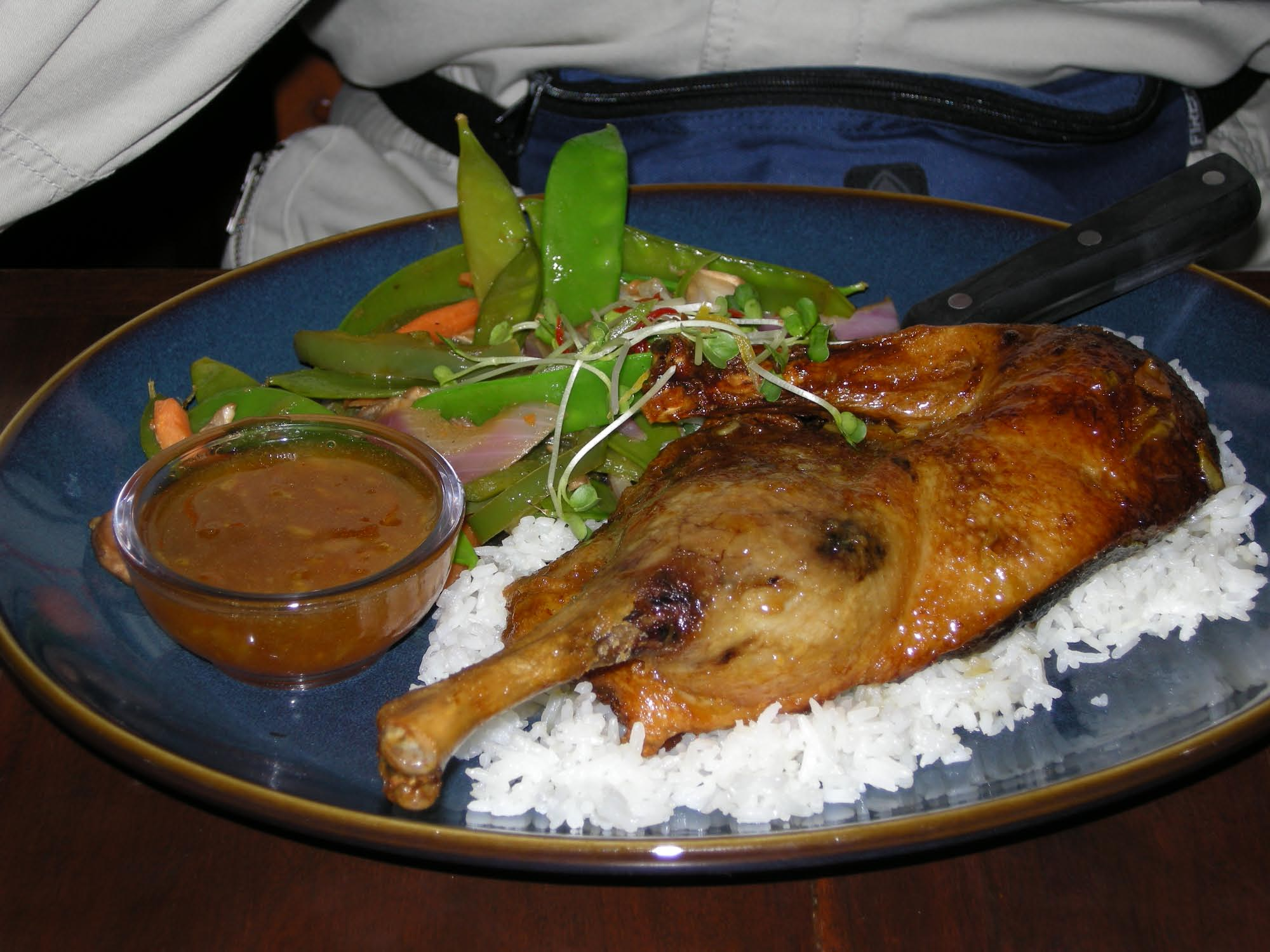 Animal Kingdom - Asia - Yak & Yeti Restaurant - Duck with Anandapur Gla photo