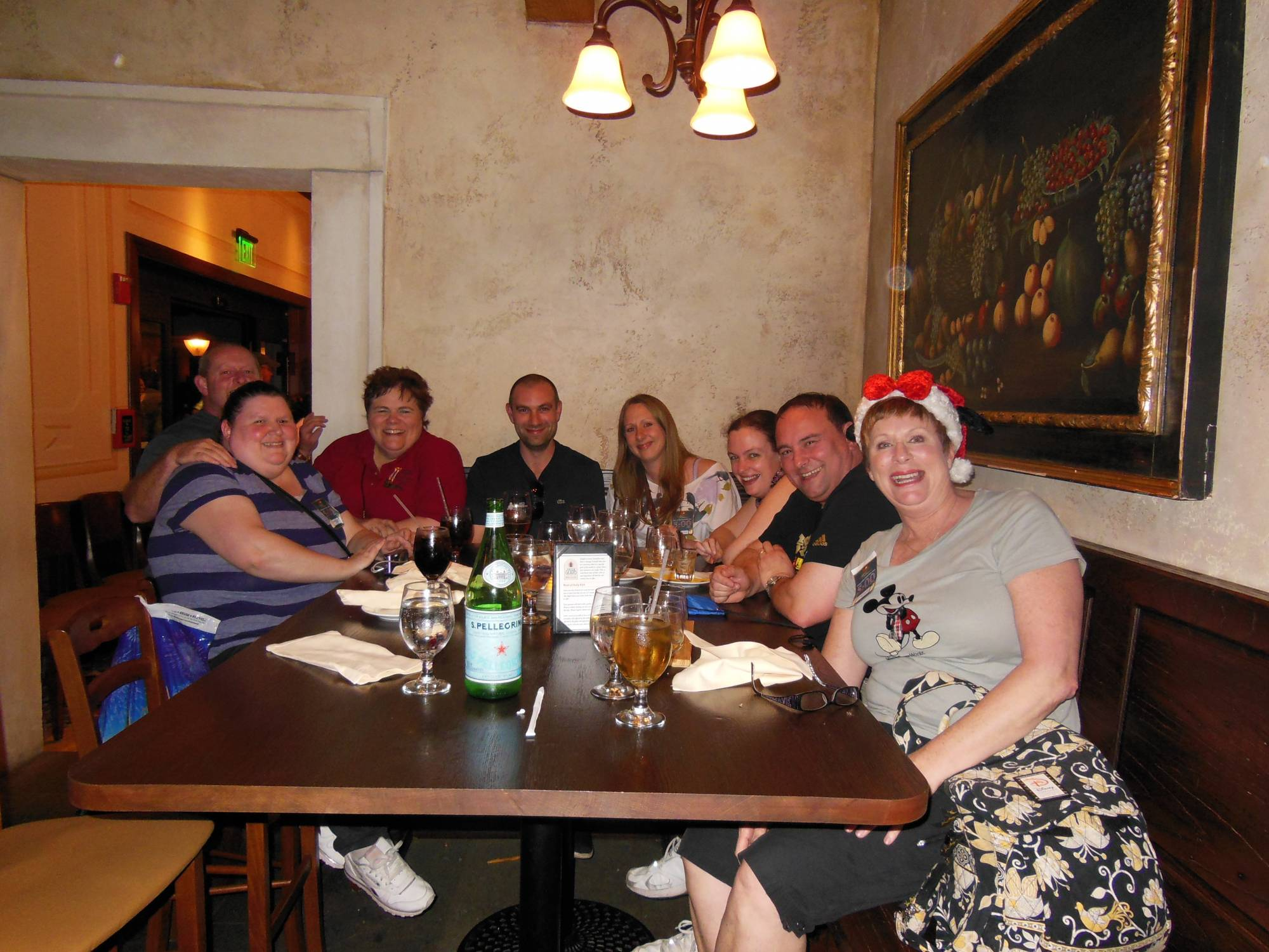 Enjoy a drink and a meal with friends or family at Tutto Gusto in Epcot | PassPorter.com