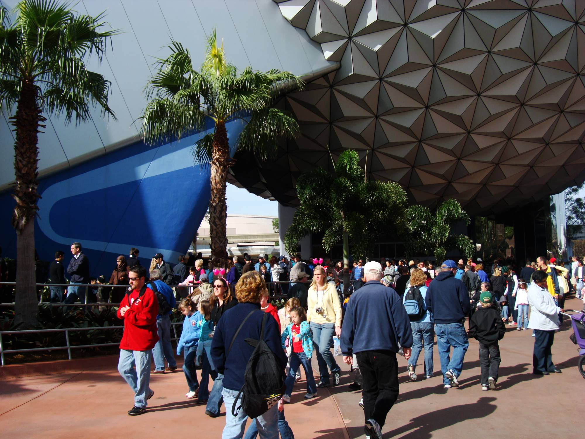 Epcot - Spaceship Earth photo
