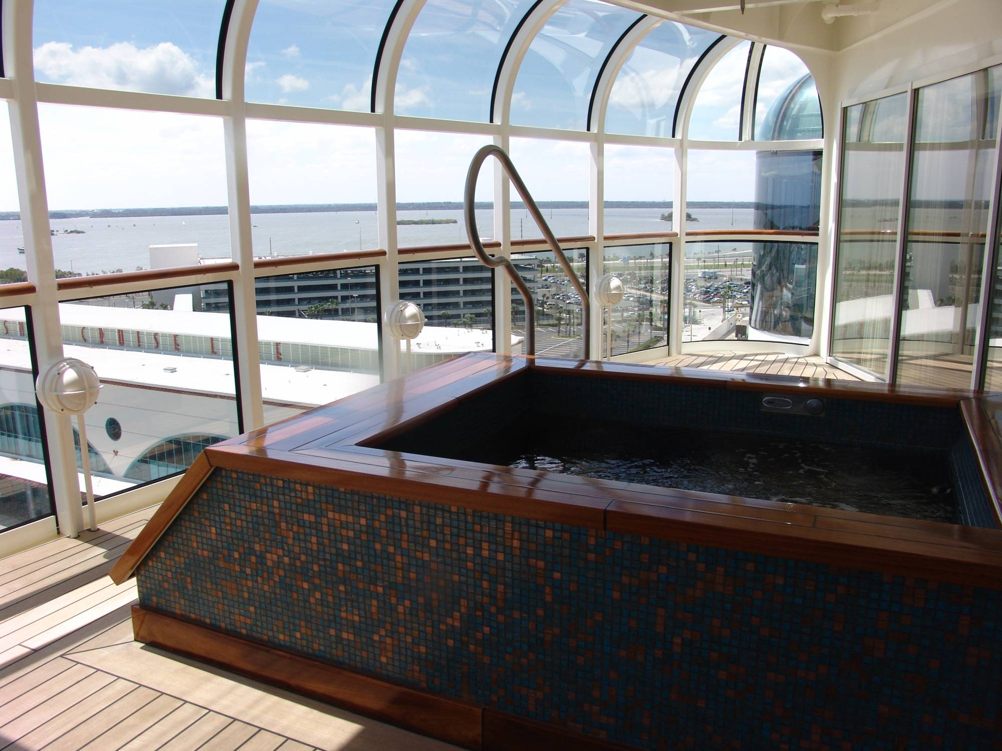 Enjoy a tropical oasis onboard the Disney Cruise Line in the Rainforest |PassPorter.com