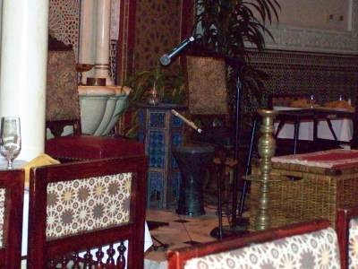 Stage in Restaurant Marrakesh in Morroco at Epcot