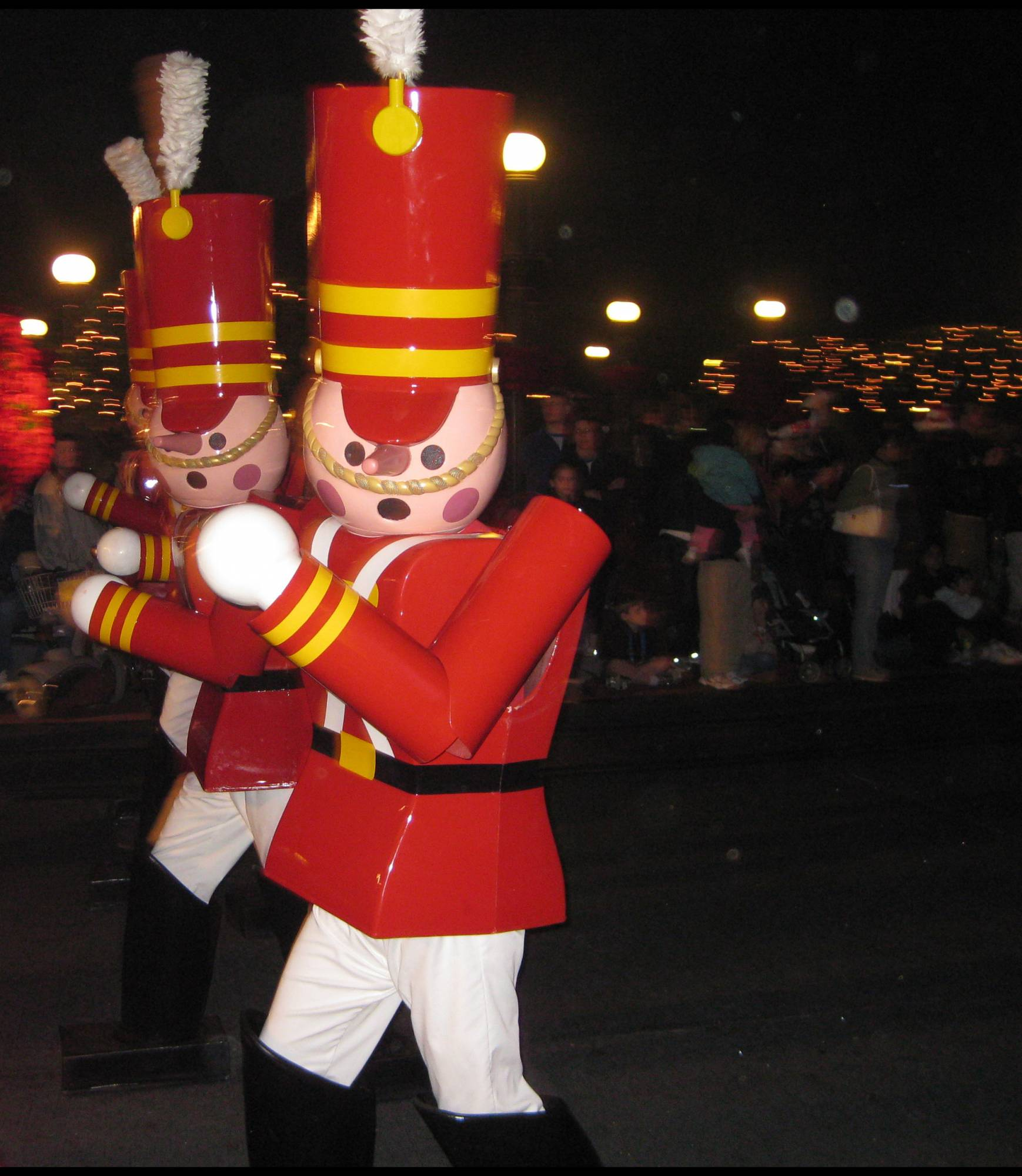 Christmas parade--Nutcrackers