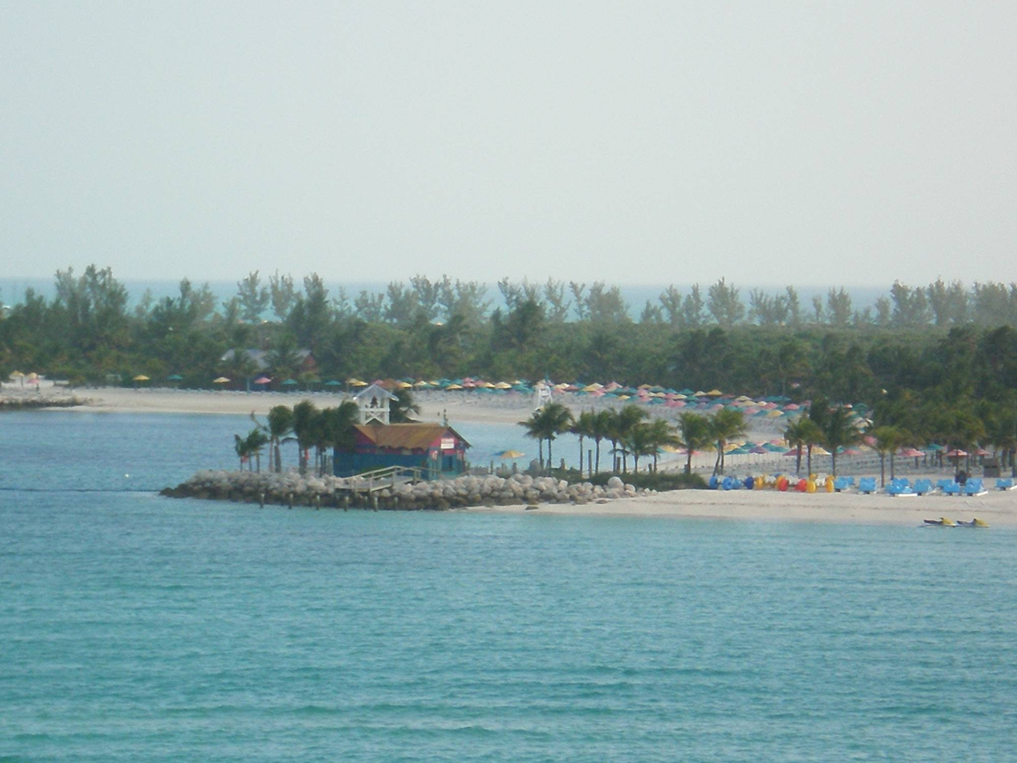 Castaway Cay View from Category 6 Veranda