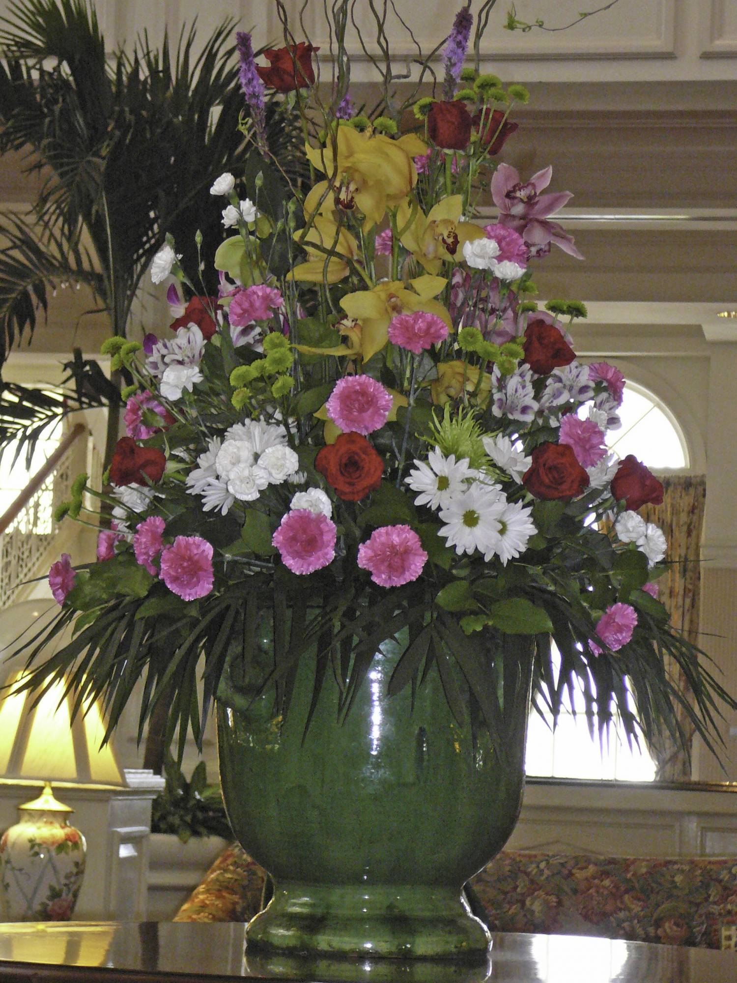 Flowers of  the Grand Floridian