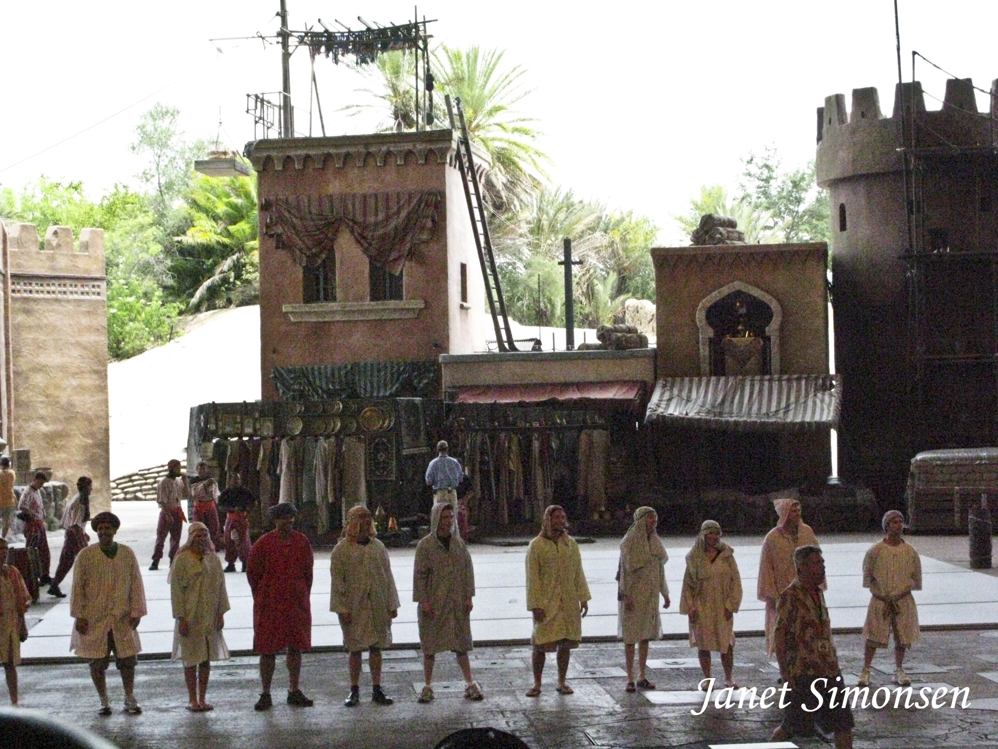 Disney Hollywood Studios-Indiana Jones Stunt Show
