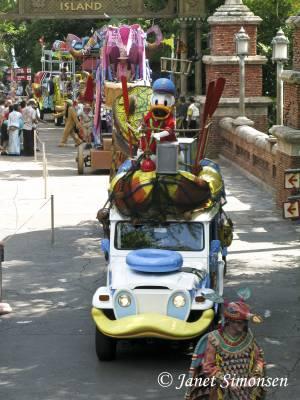 Animal Kingdom - Mickeys Jammin Jungle Parade
