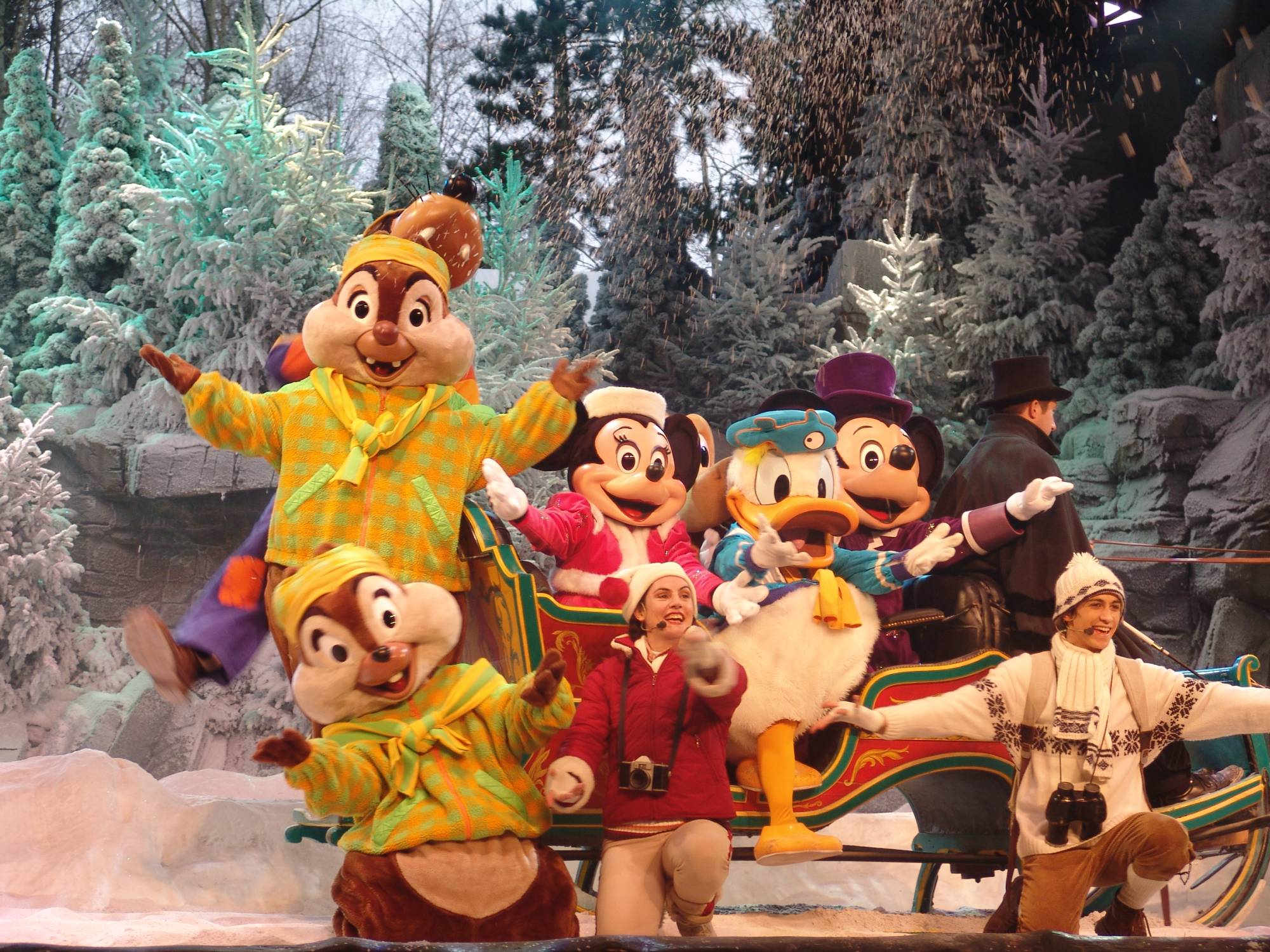 Disneyland Paris - Mickey's Winter Wonderland