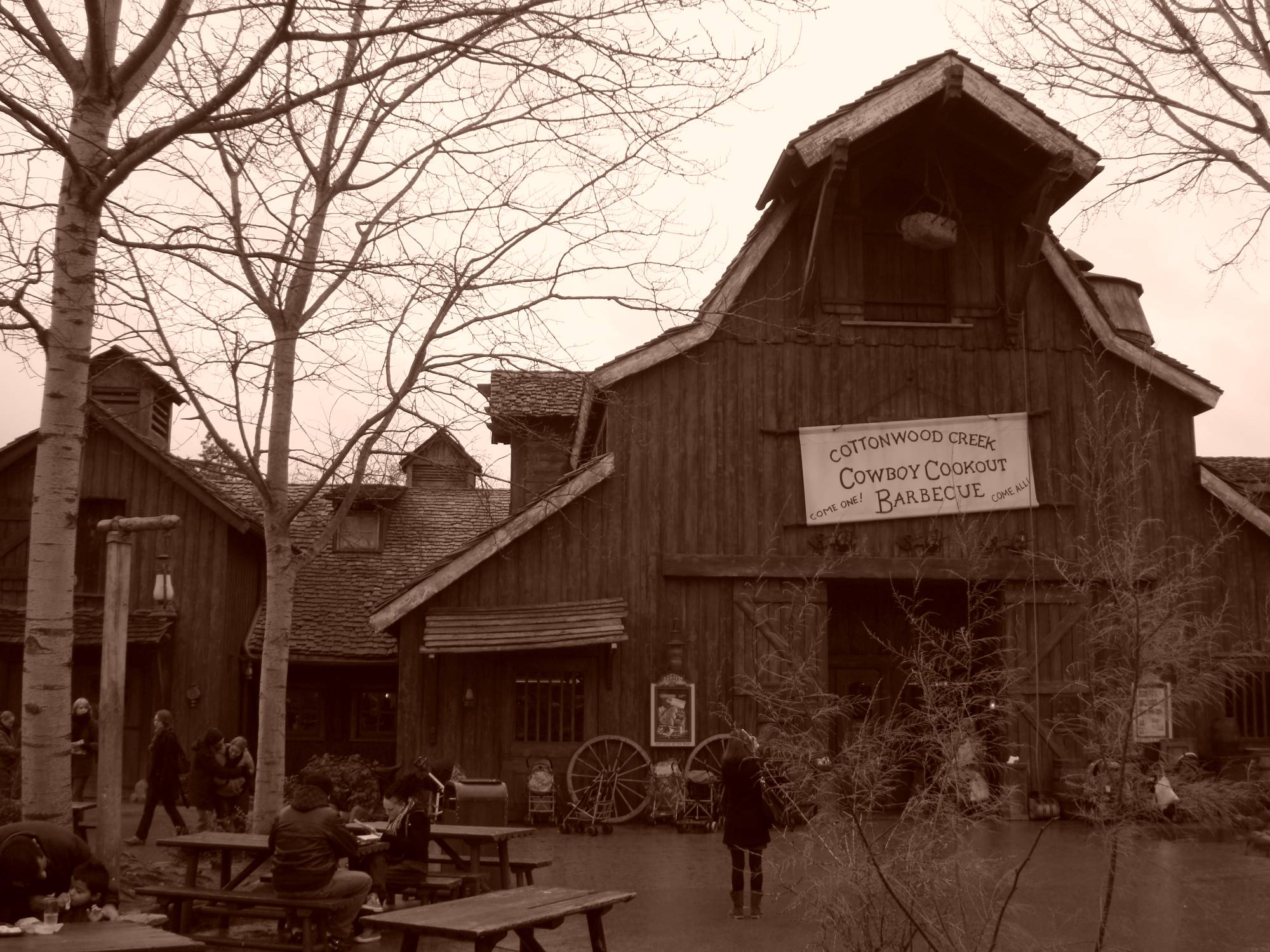 Disneyland Paris - Cowboy Cookout Barbecue