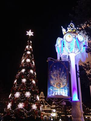 Disneyland Paris - Christmas tree