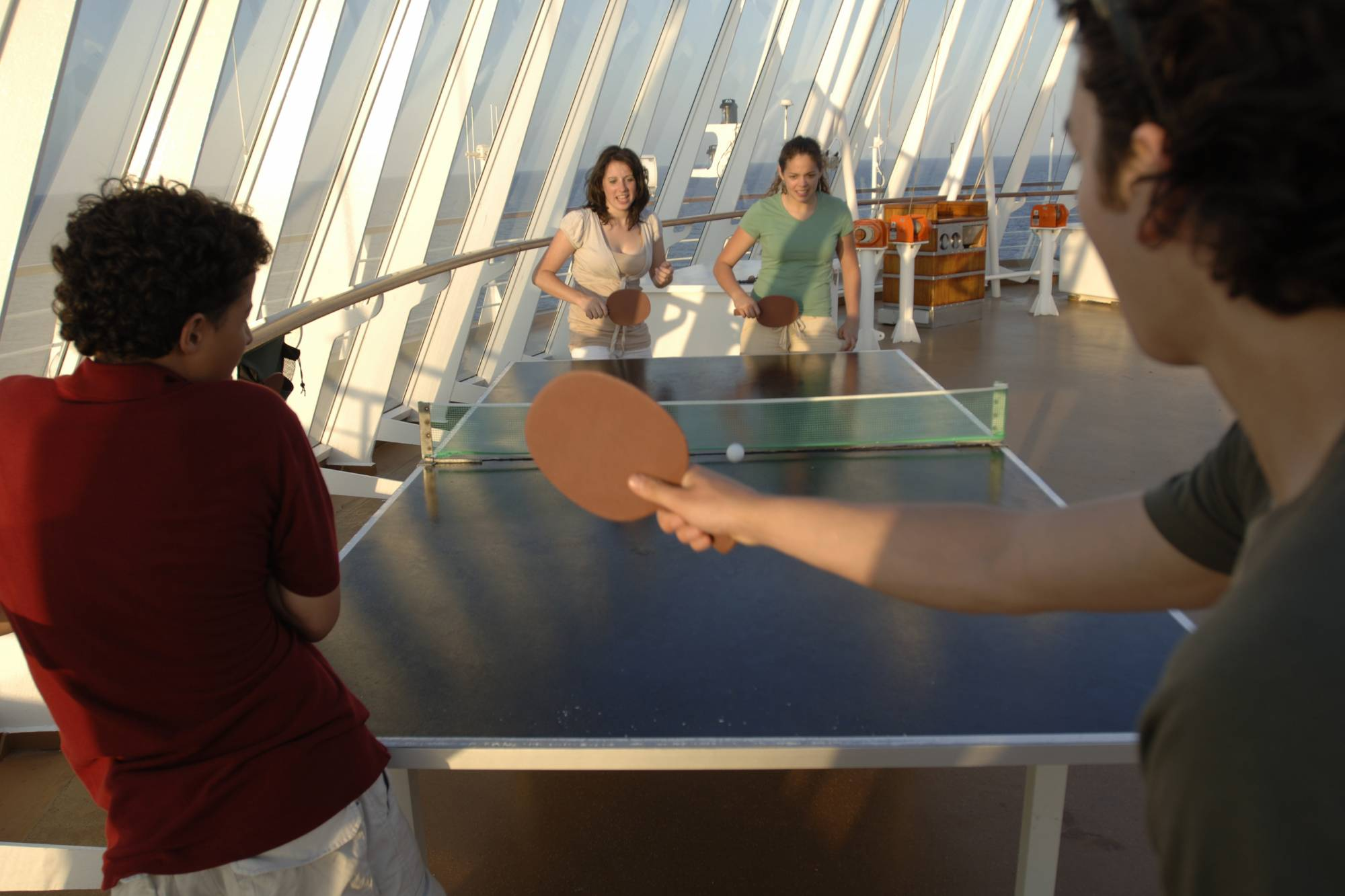 Disney Cruise - Ping Pong at Sea