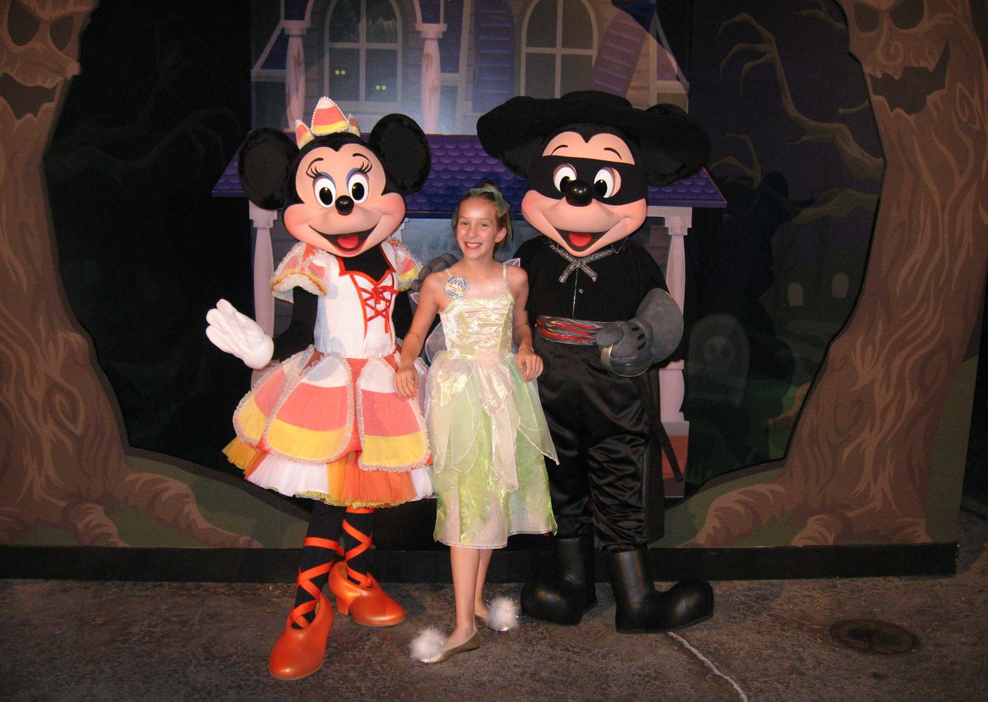 Disney's California Adventure - Mickey and Minnie on Halloween