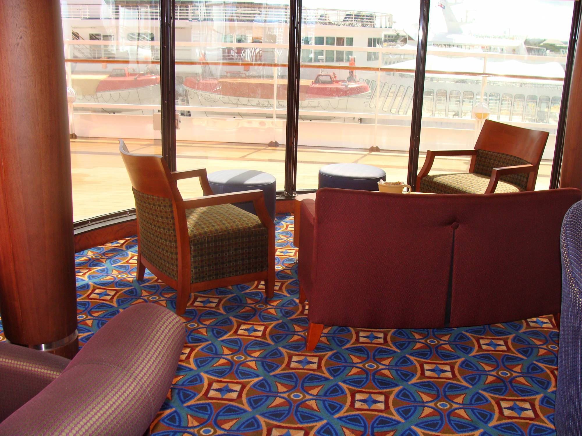 Outlook Cafe/Lounge Starboard Side