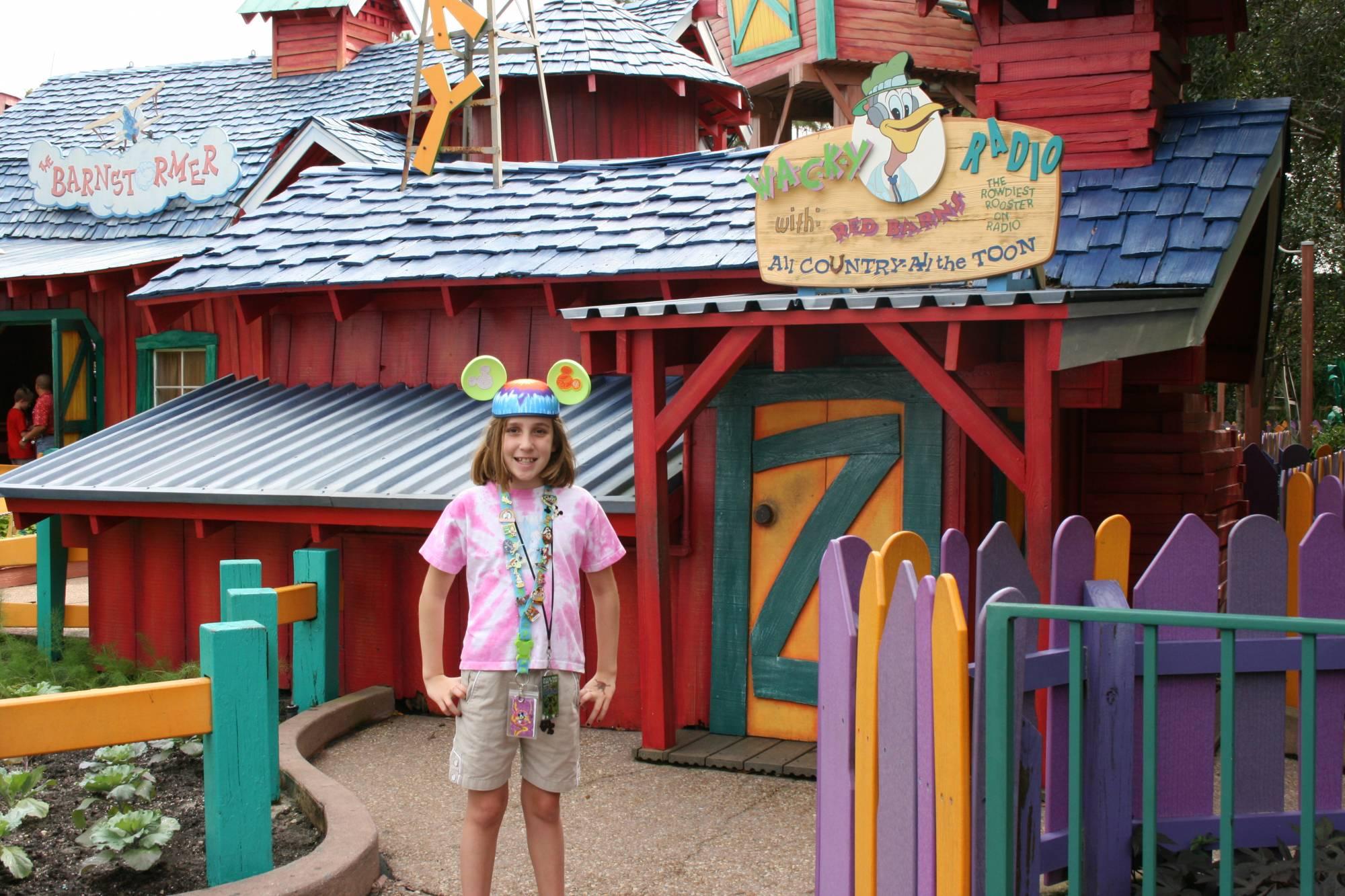 Mickey's Toontown: Barnstormer