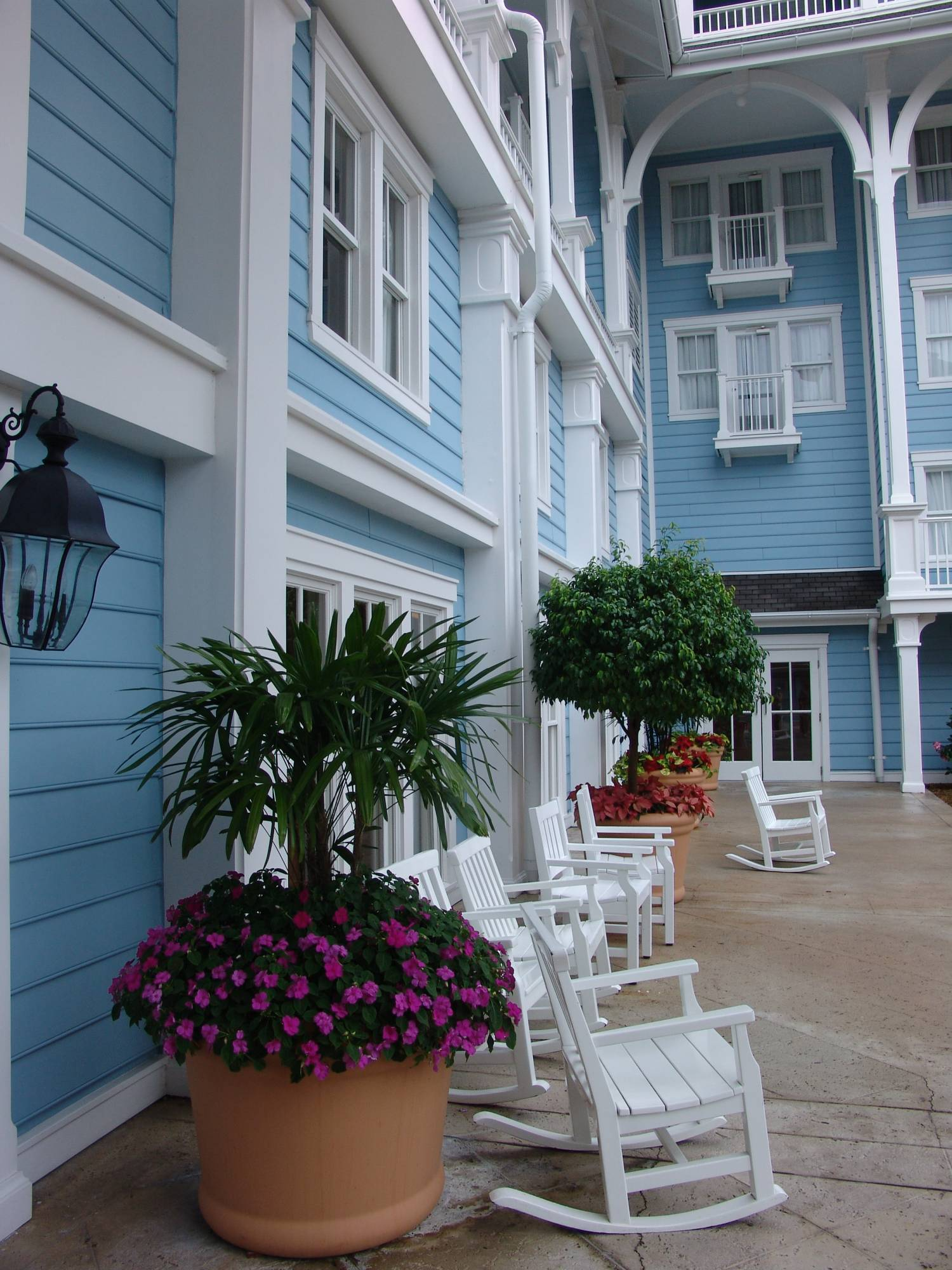 Beach Club - exterior shot