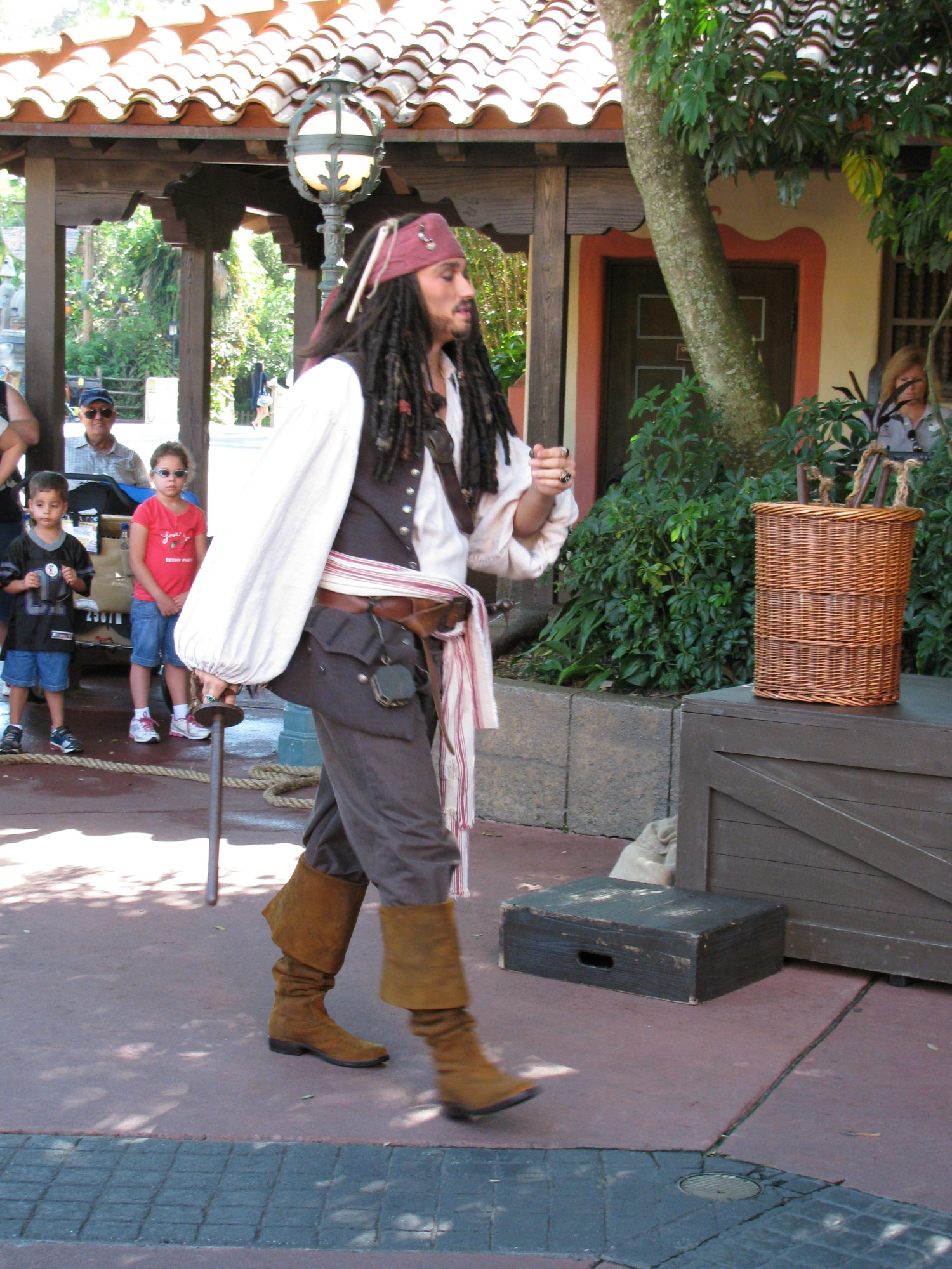 Magic Kingdom - Adventureland - Pirate Tutorial