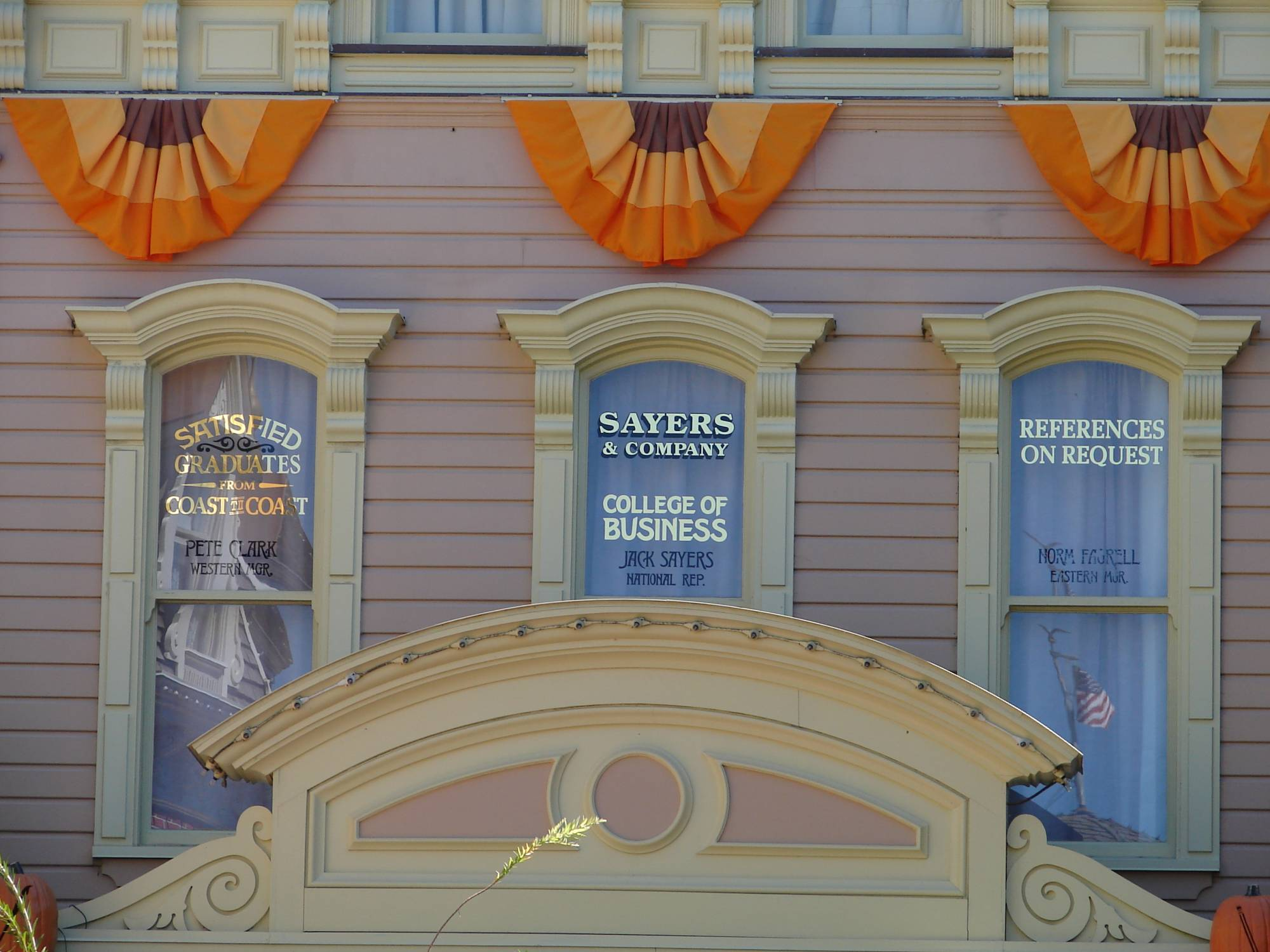 Magic Kingdom - Main Street USA Windows