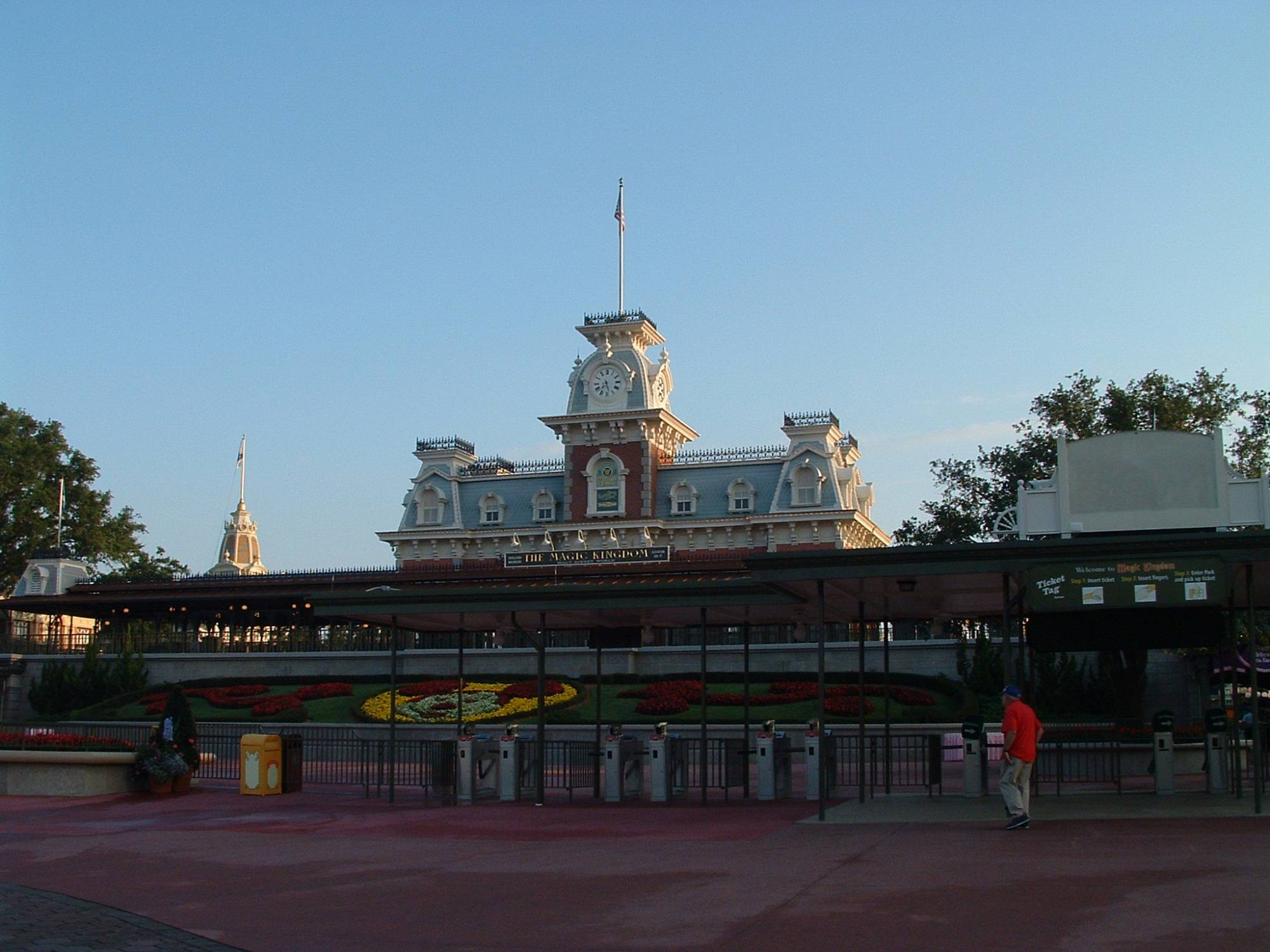 Magic Kingdom - Entrance Gates