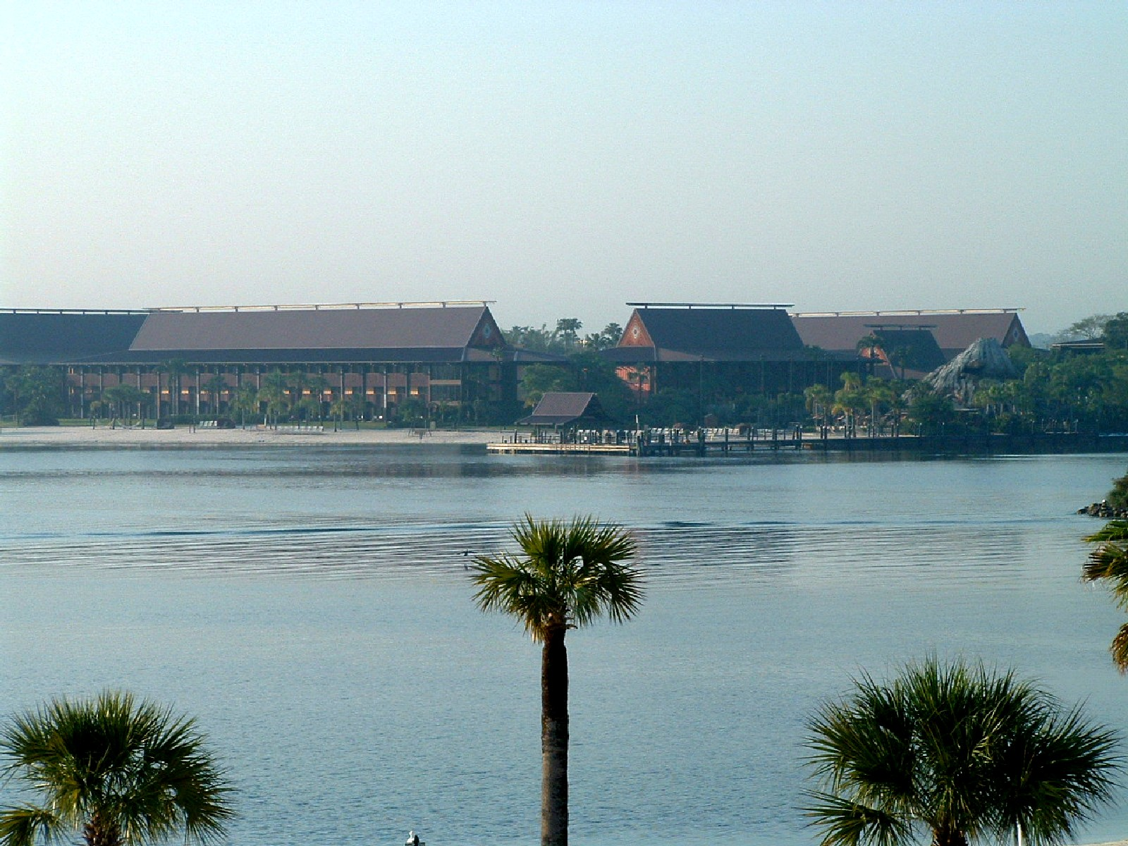 Grand Floridian - View of the Polynesian