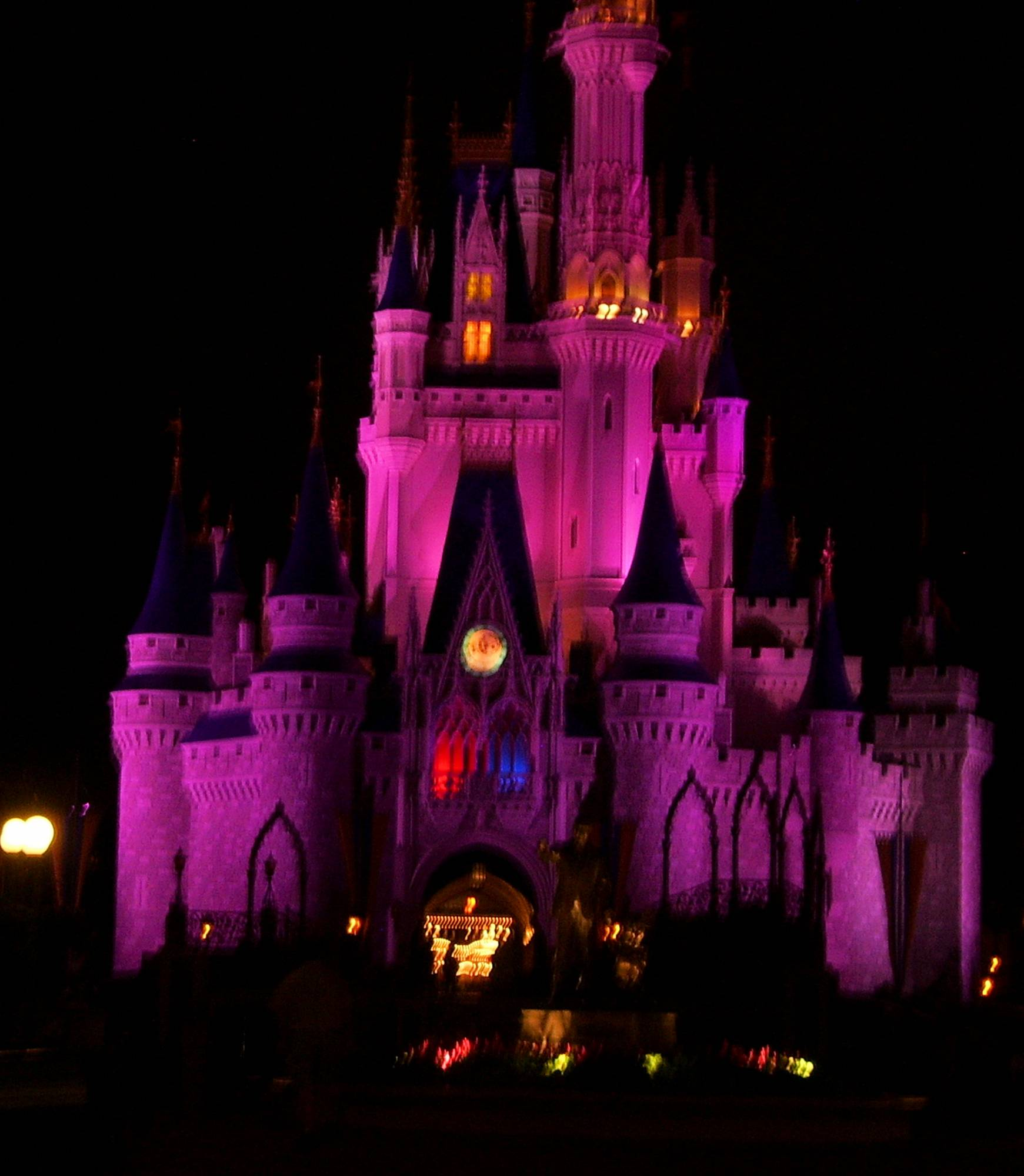 Magic Kingdom - Cinderella's Castle - Nighty Night Castle