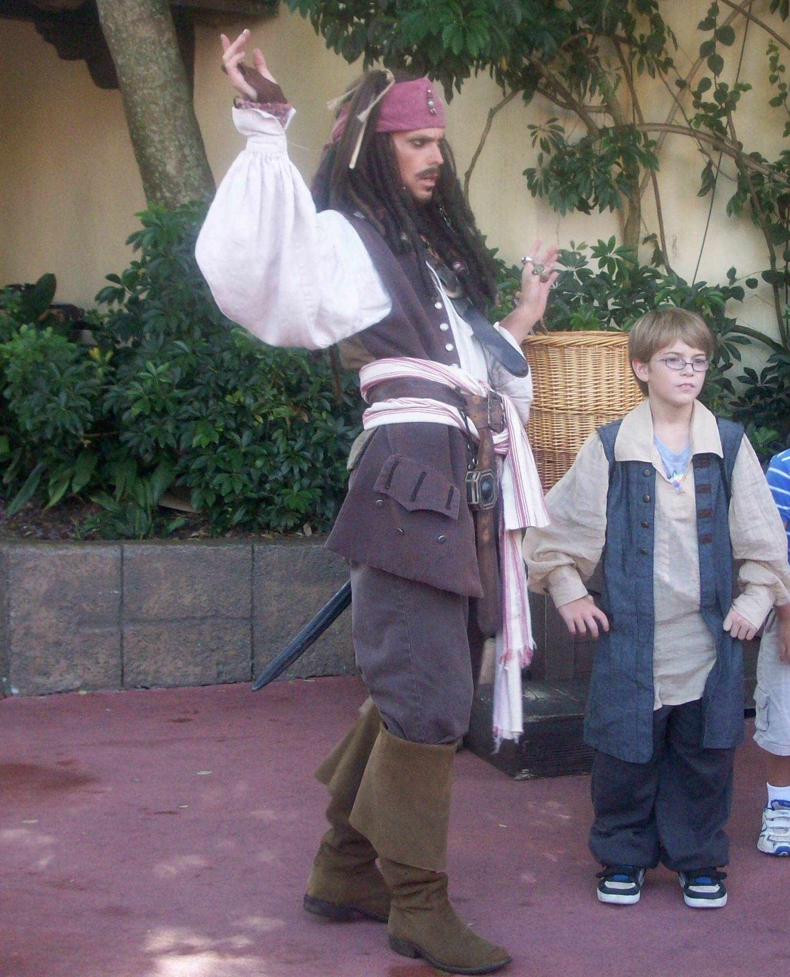 Magic Kingdom - Adventureland - Pirate Training