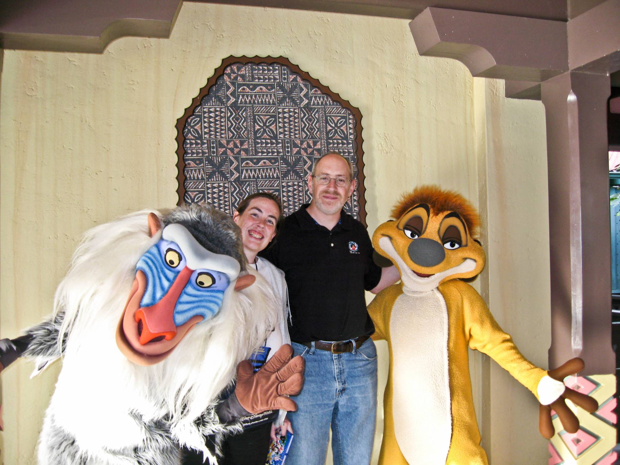 Magic Kingdom - Rafiki and Timone