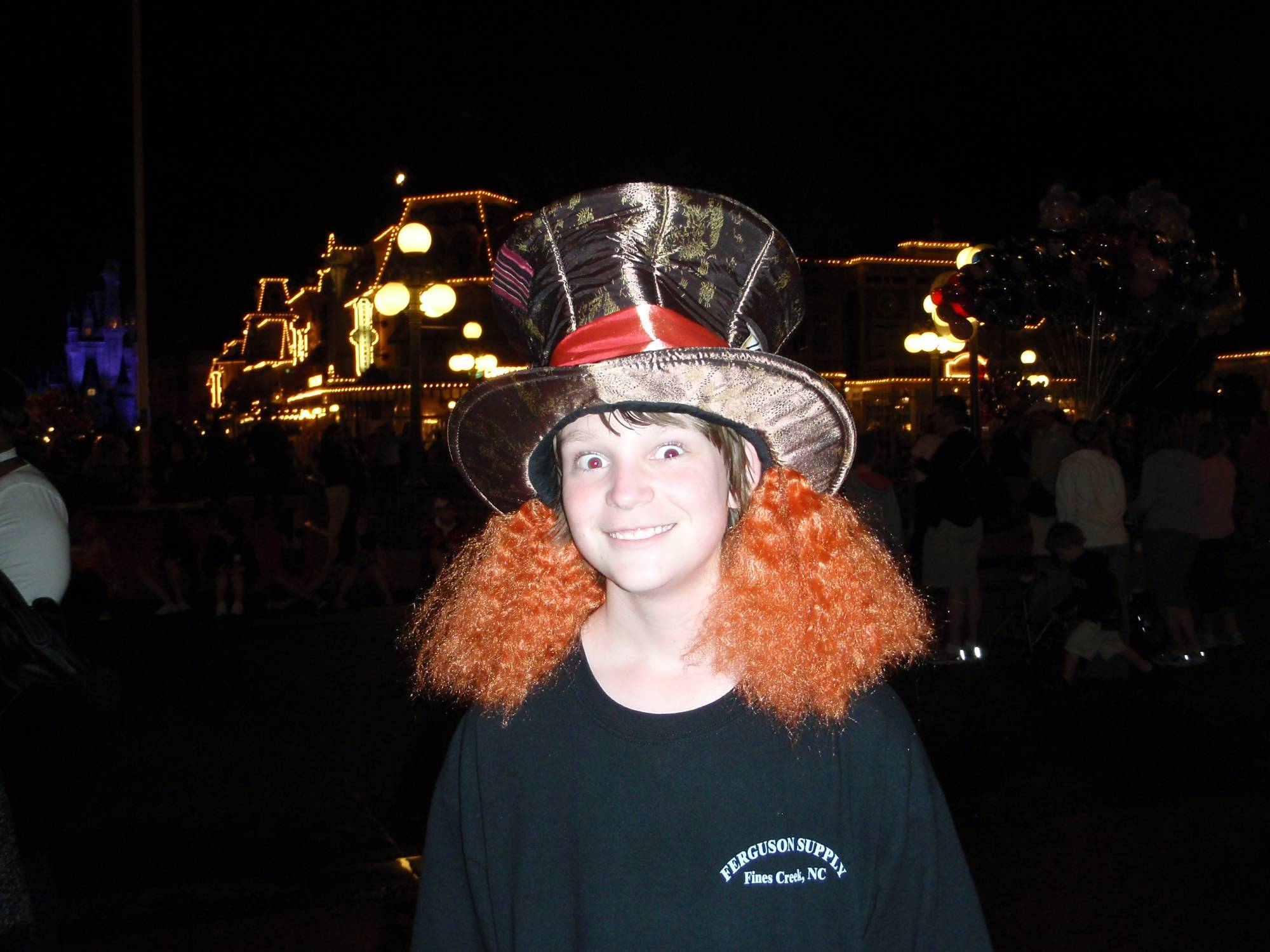 Magic Kingdom - Will as the Mad Hatter