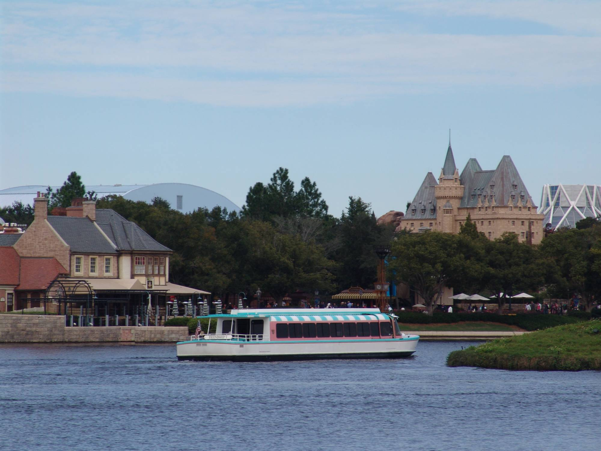 Epcot - Friendship on World Showcase lagoon