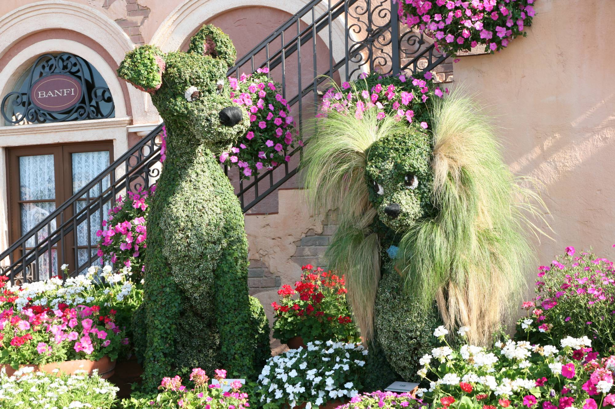 Epcot - Italy - Flower and Garden Festival