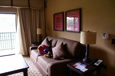 Living Room Of A One Bedroom Villa At Kidani Village Passporter Photos