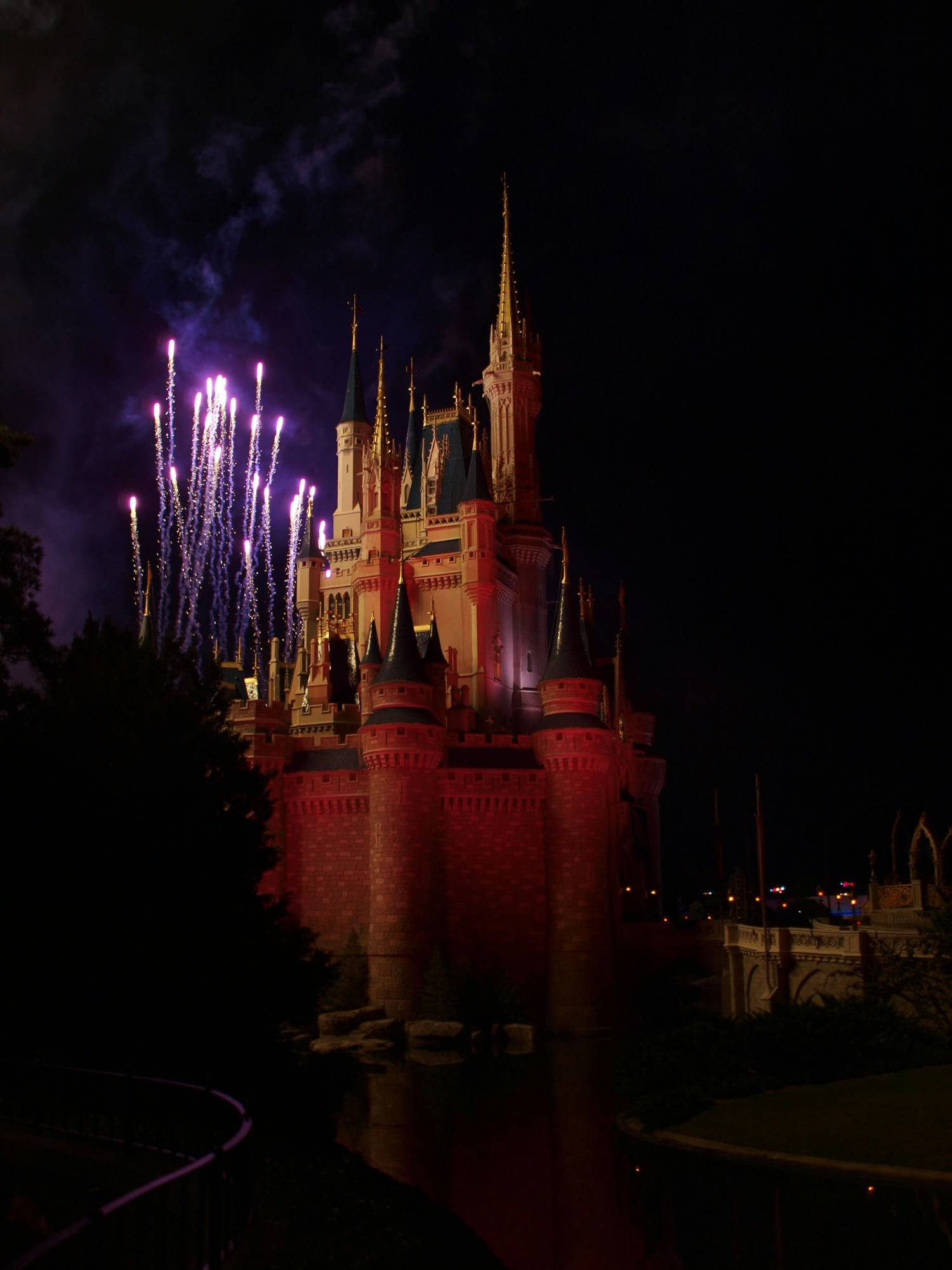 Castle during Hallowishes